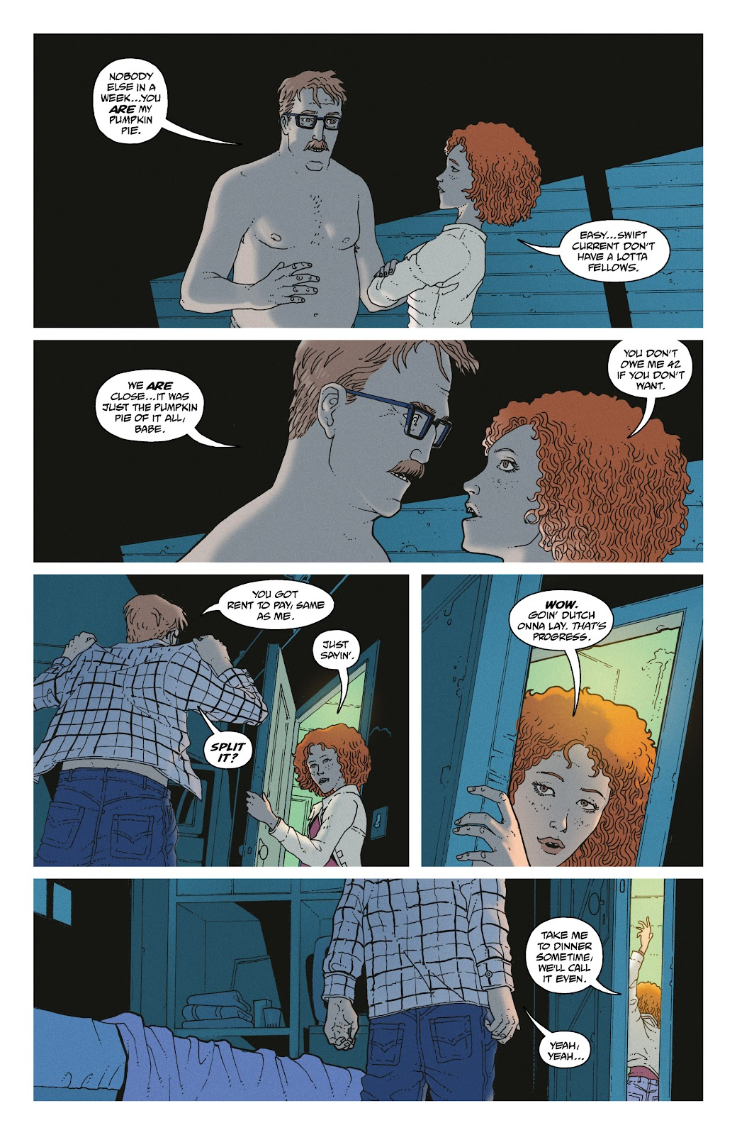 Read online She Could Fly comic -  Issue # _TPB - 21