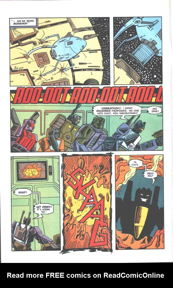 Read online Transformers: Generation 2 comic -  Issue #10 - 6