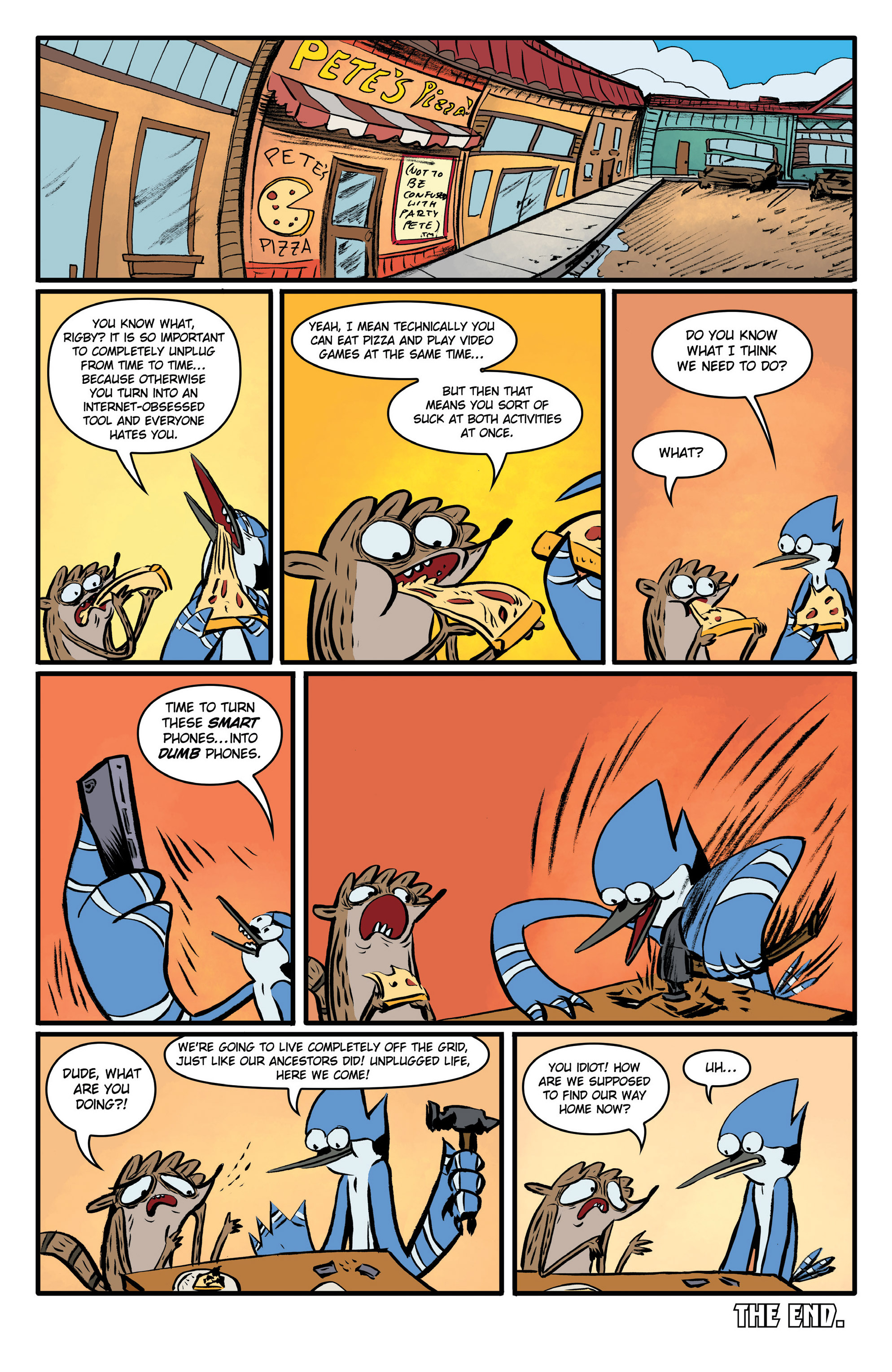 Read online Regular Show comic -  Issue # _Annual 1 - 14