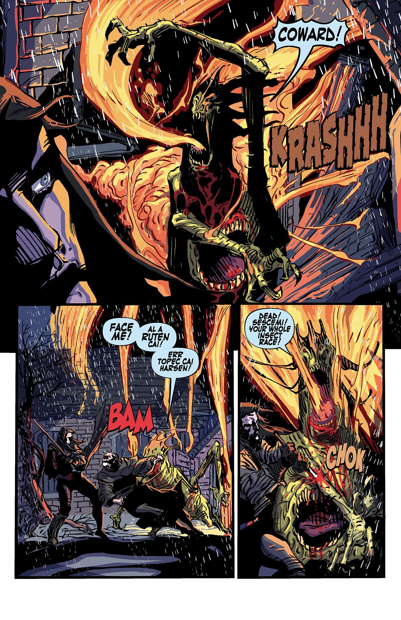 Read online Solomon Kane: Death's Black Riders comic -  Issue #4 - 22