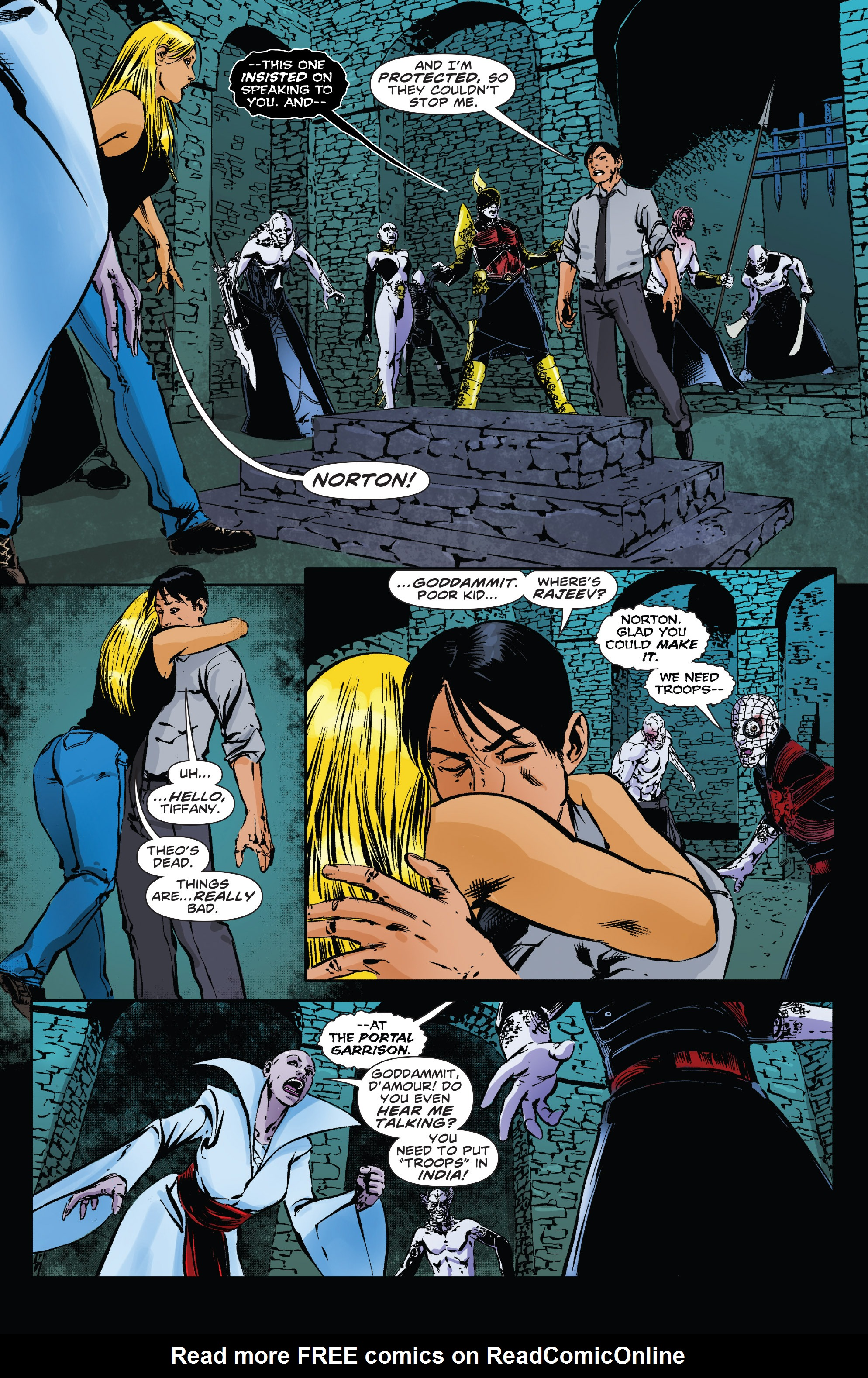 Read online Clive Barker's Hellraiser: The Dark Watch comic -  Issue # TPB 3 - 86