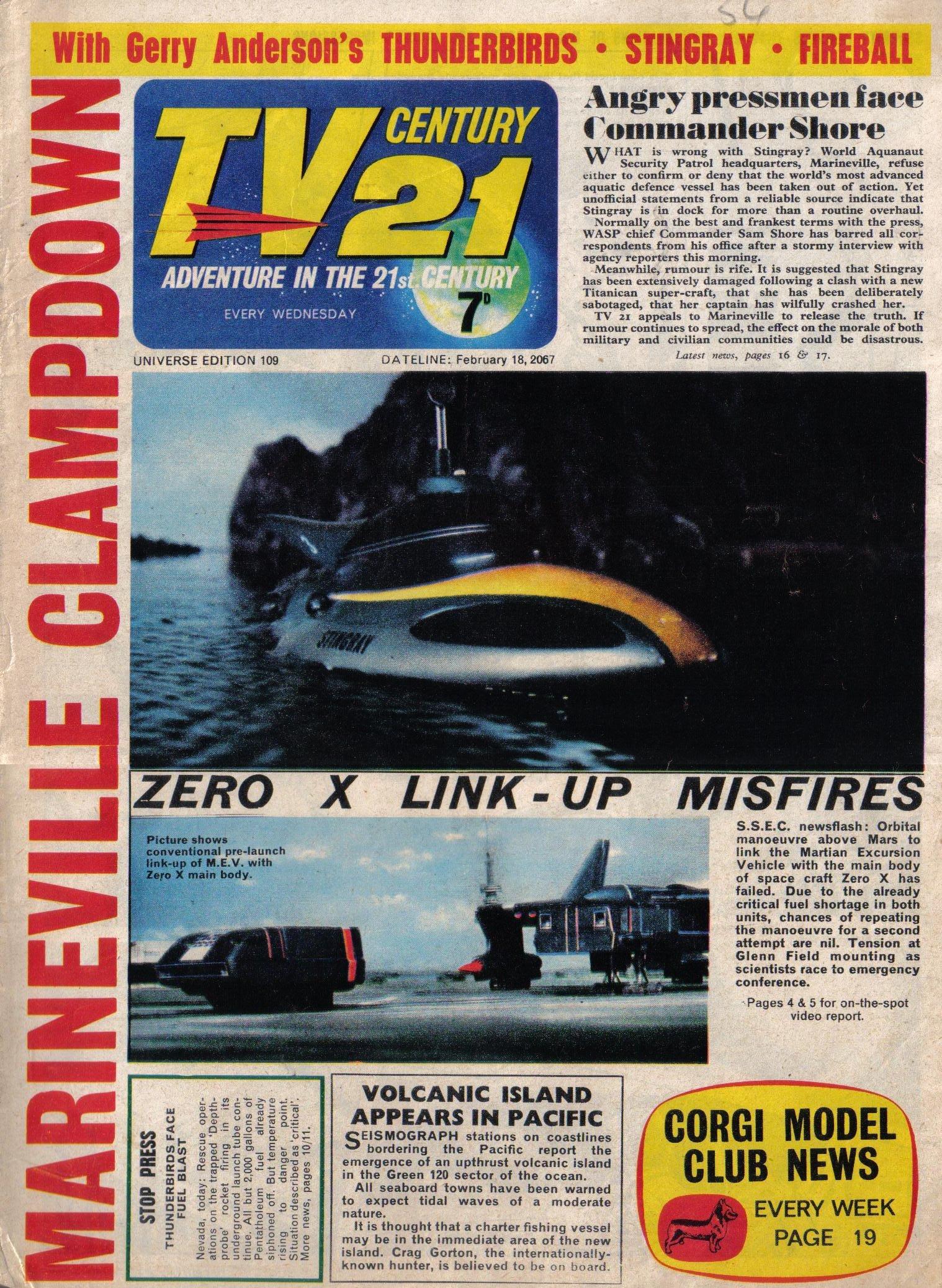 TV Century 21 (TV 21) 109 Page 1