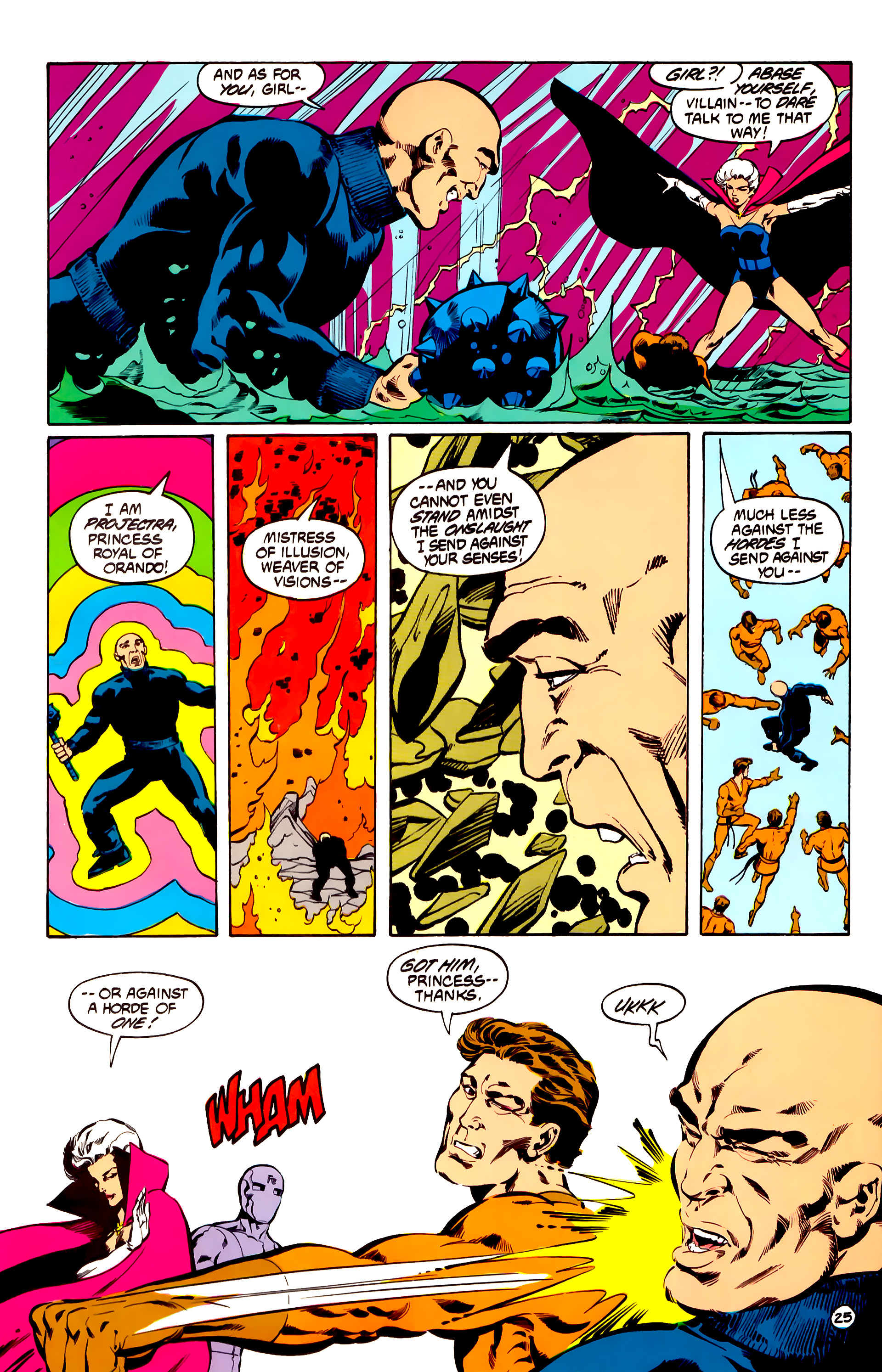 Legion of Super-Heroes (1984) 31 Page 25