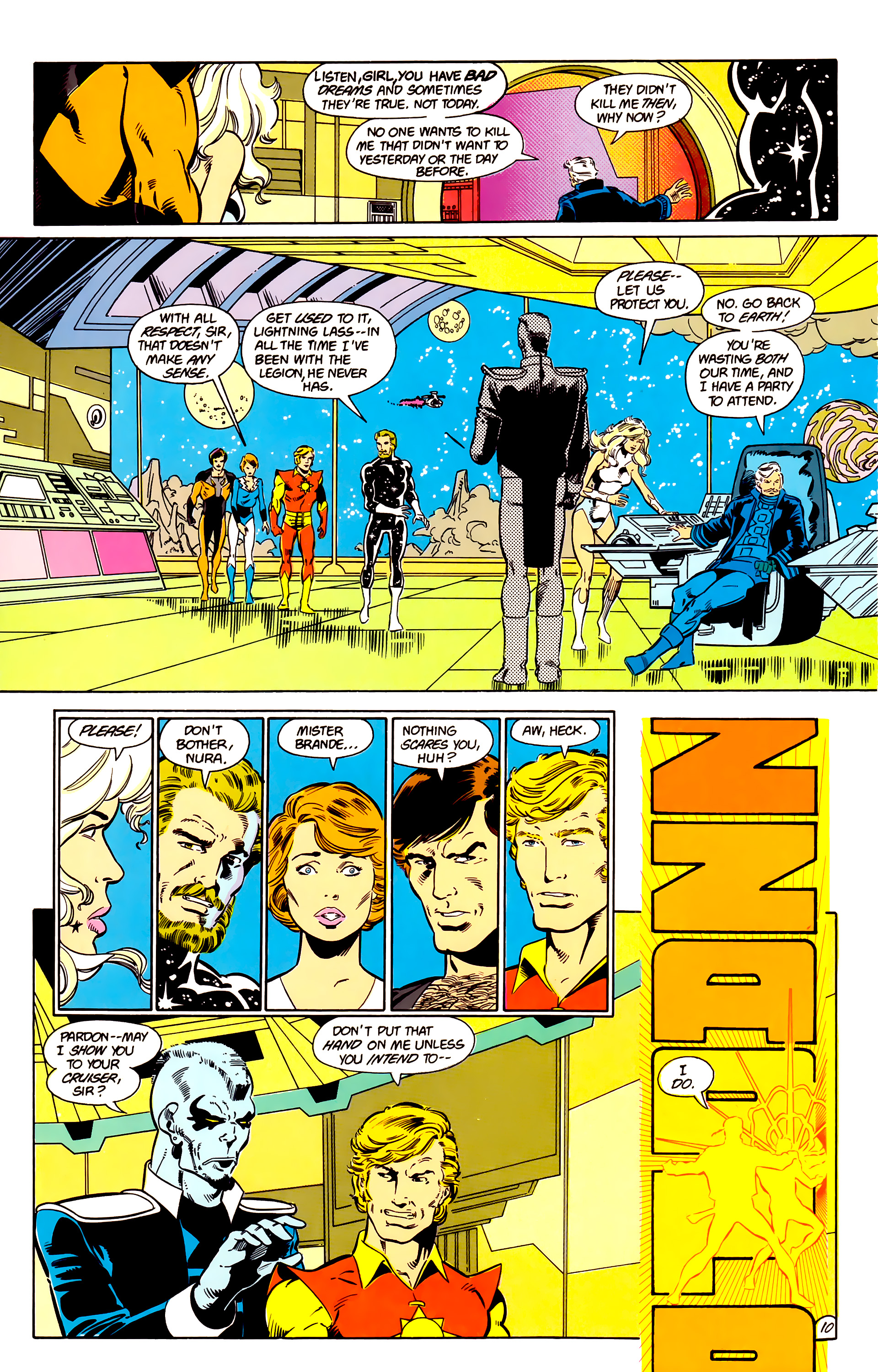 Legion of Super-Heroes (1984) 17 Page 11