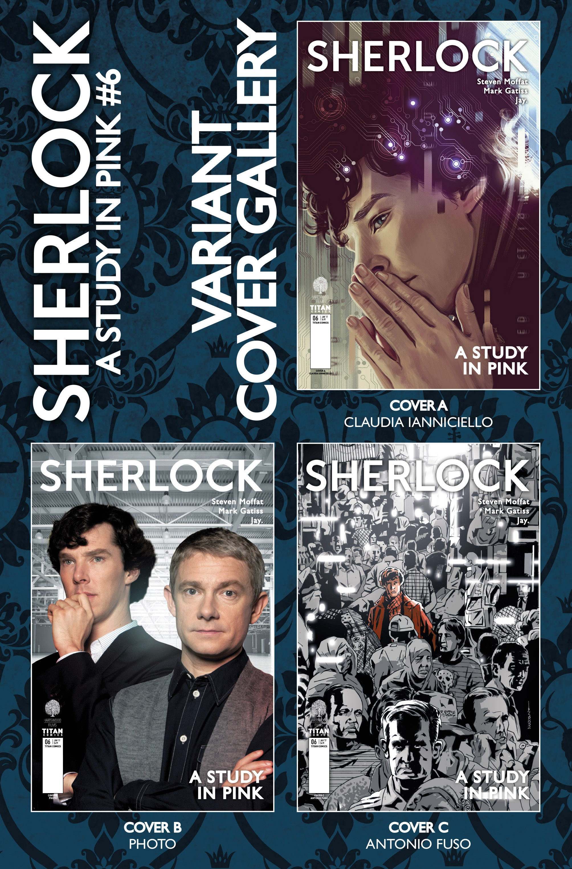 Read online Sherlock: A Study In Pink comic -  Issue #6 - 46