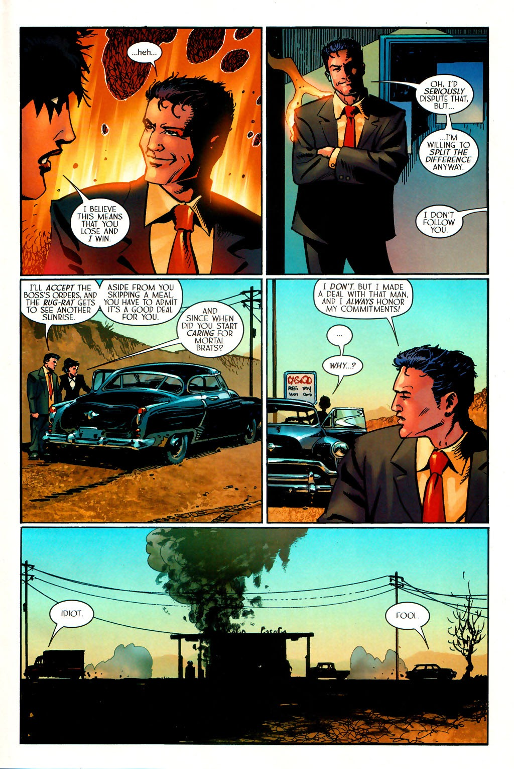 Read online Route 666 comic -  Issue #15 - 22