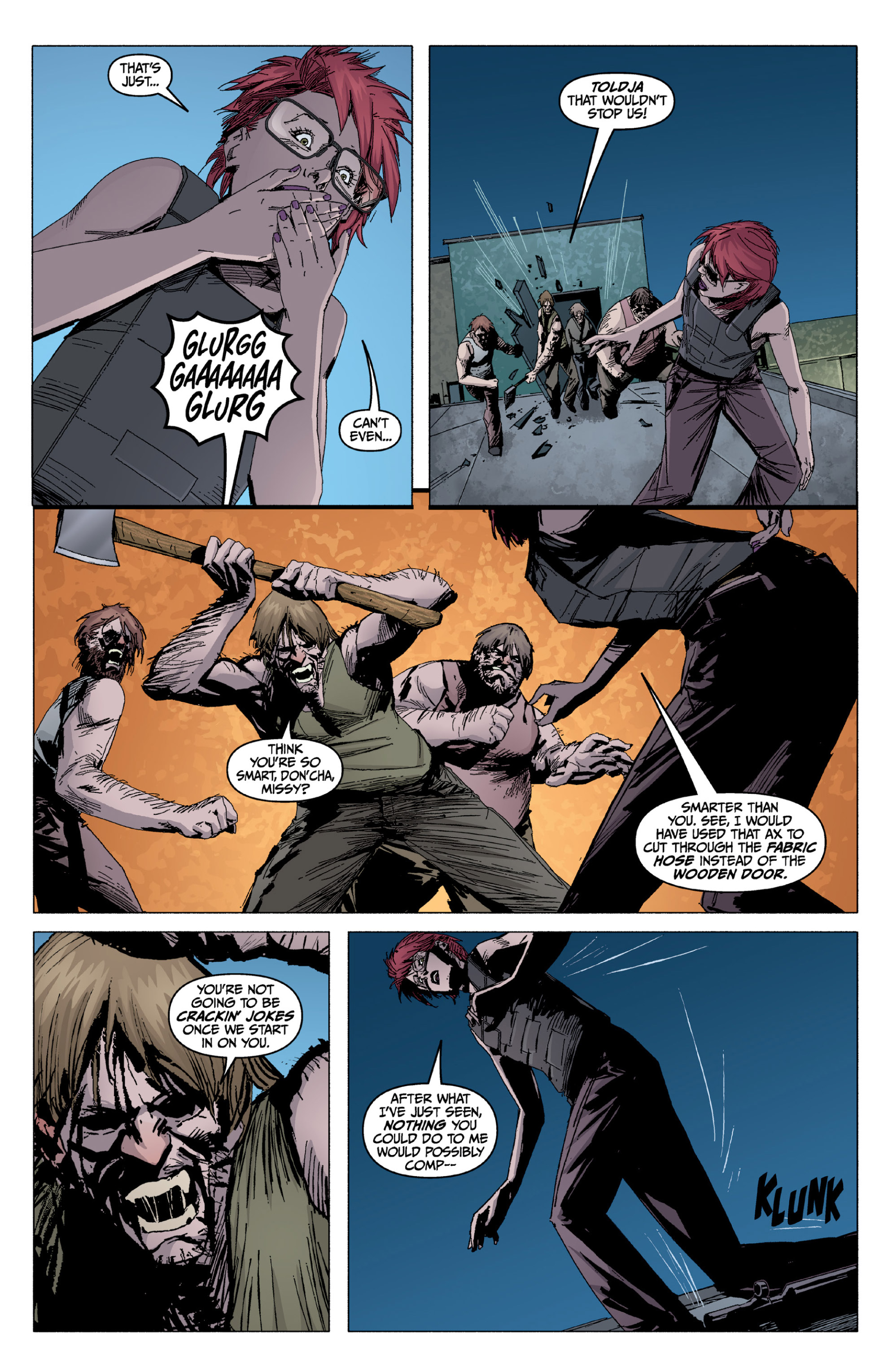Read online X: Big Bad comic -  Issue # Full - 119