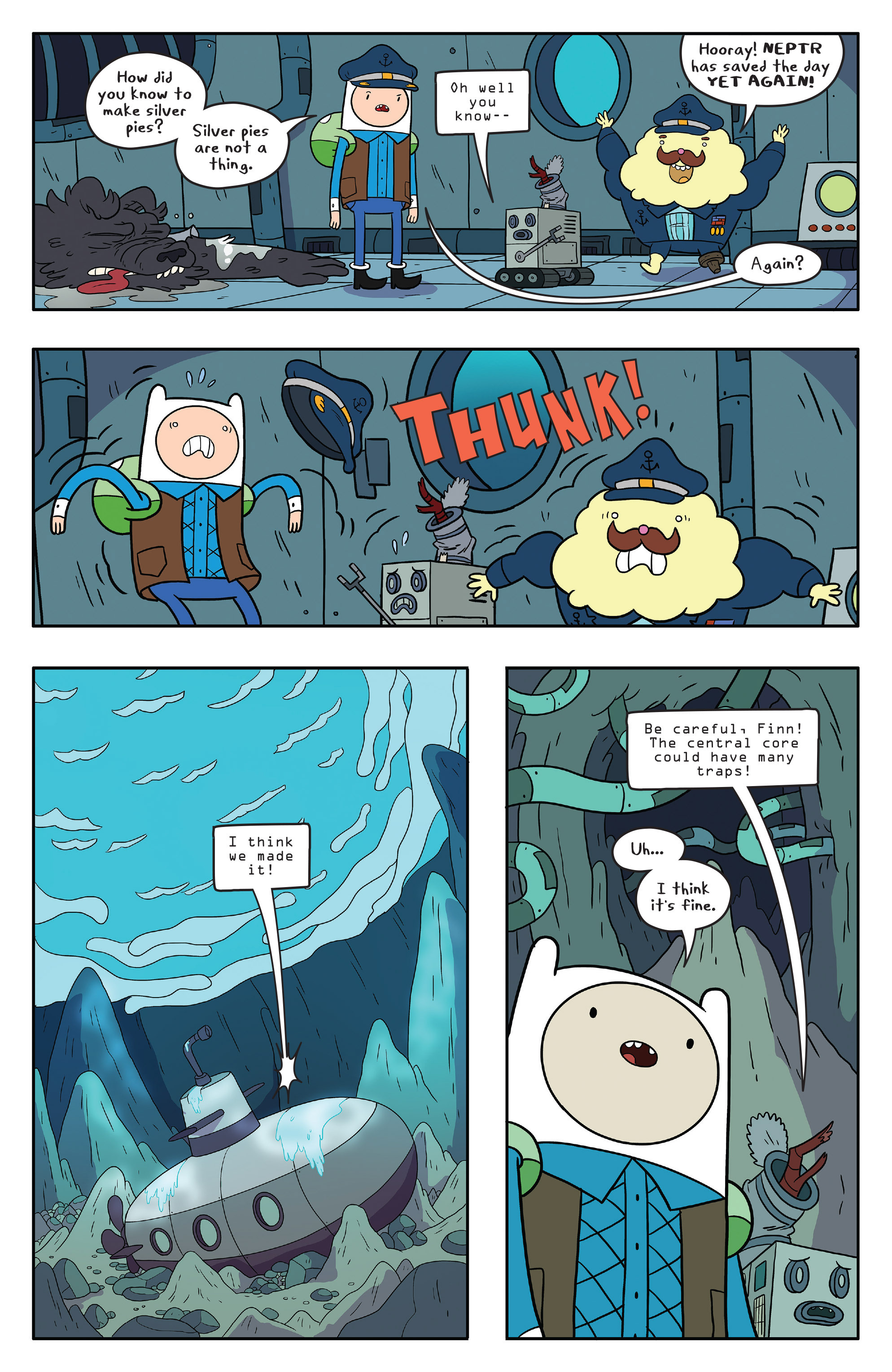 Read online Adventure Time comic -  Issue #56 - 17