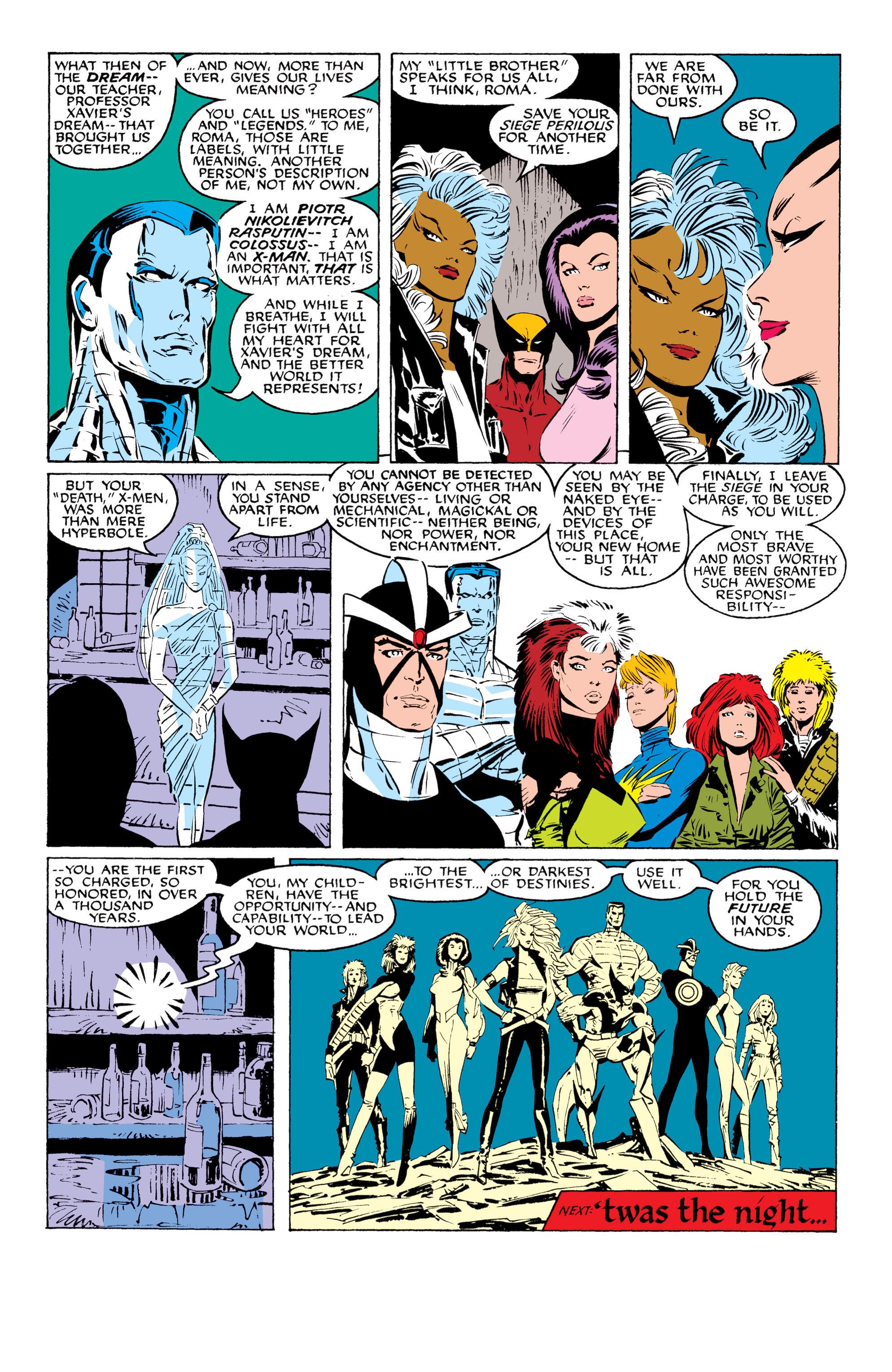 Read online Uncanny X-Men (1963) comic -  Issue #229 - 22