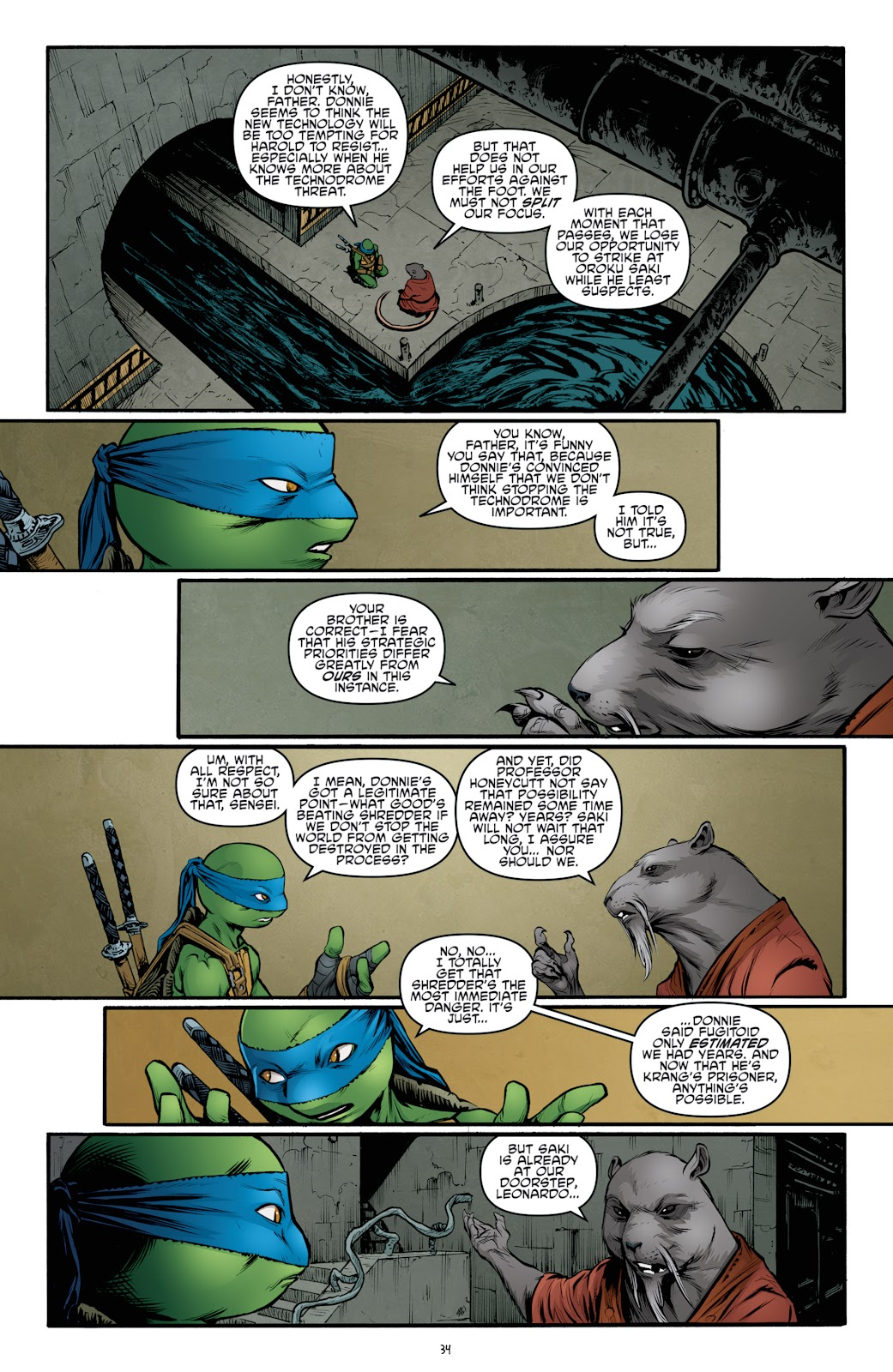 Read online Teenage Mutant Ninja Turtles: The IDW Collection comic -  Issue # TPB 4 (Part 3) - 42
