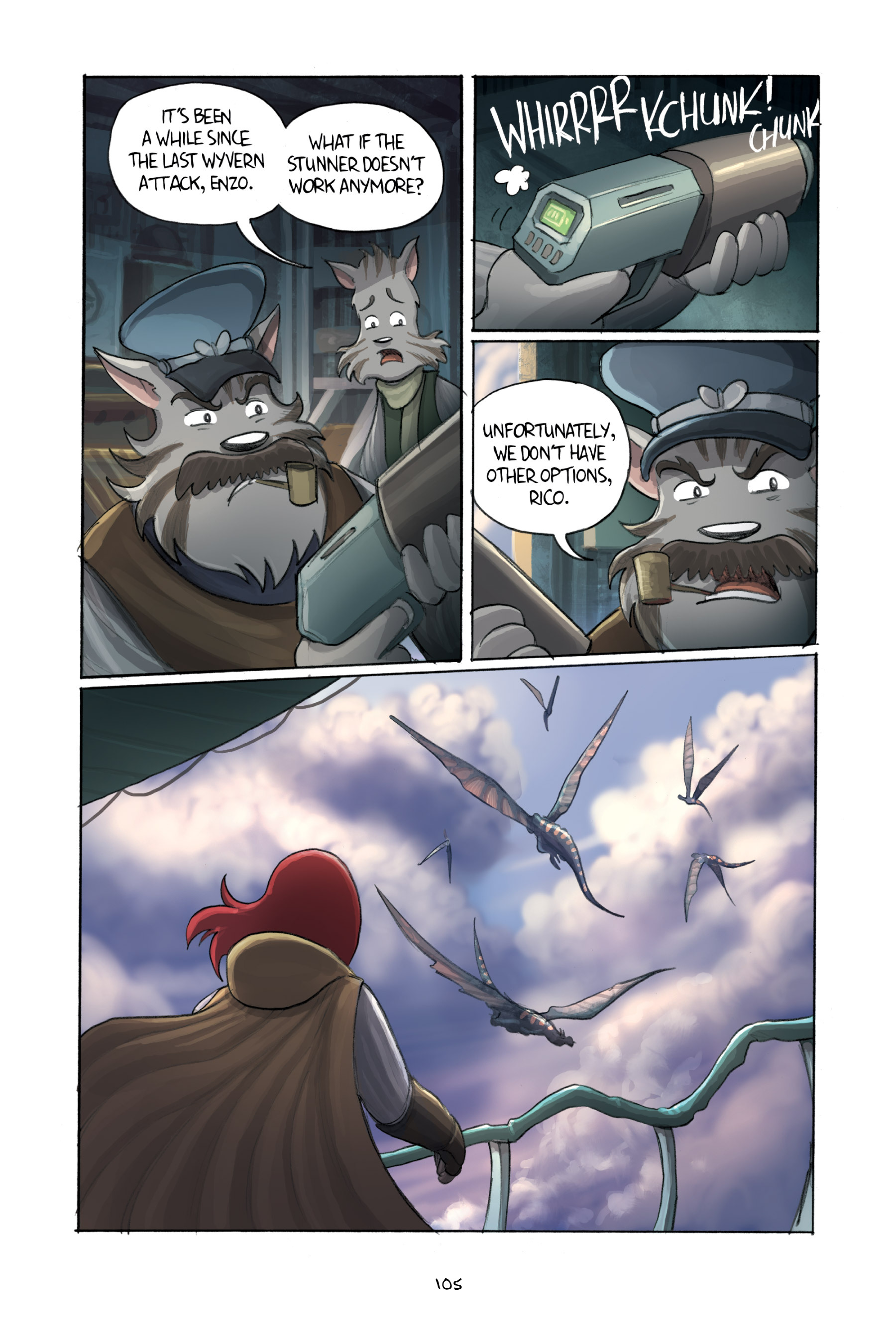 Read online Amulet comic -  Issue #3 - 103