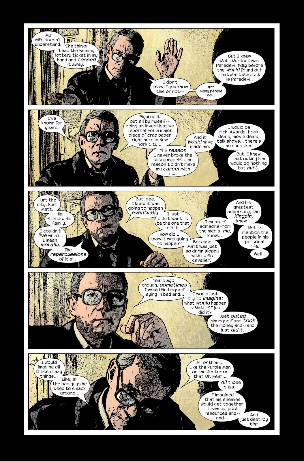 Read online Daredevil (1998) comic -  Issue # _Ultimate_Collection TPB 2 (Part 3) - 54