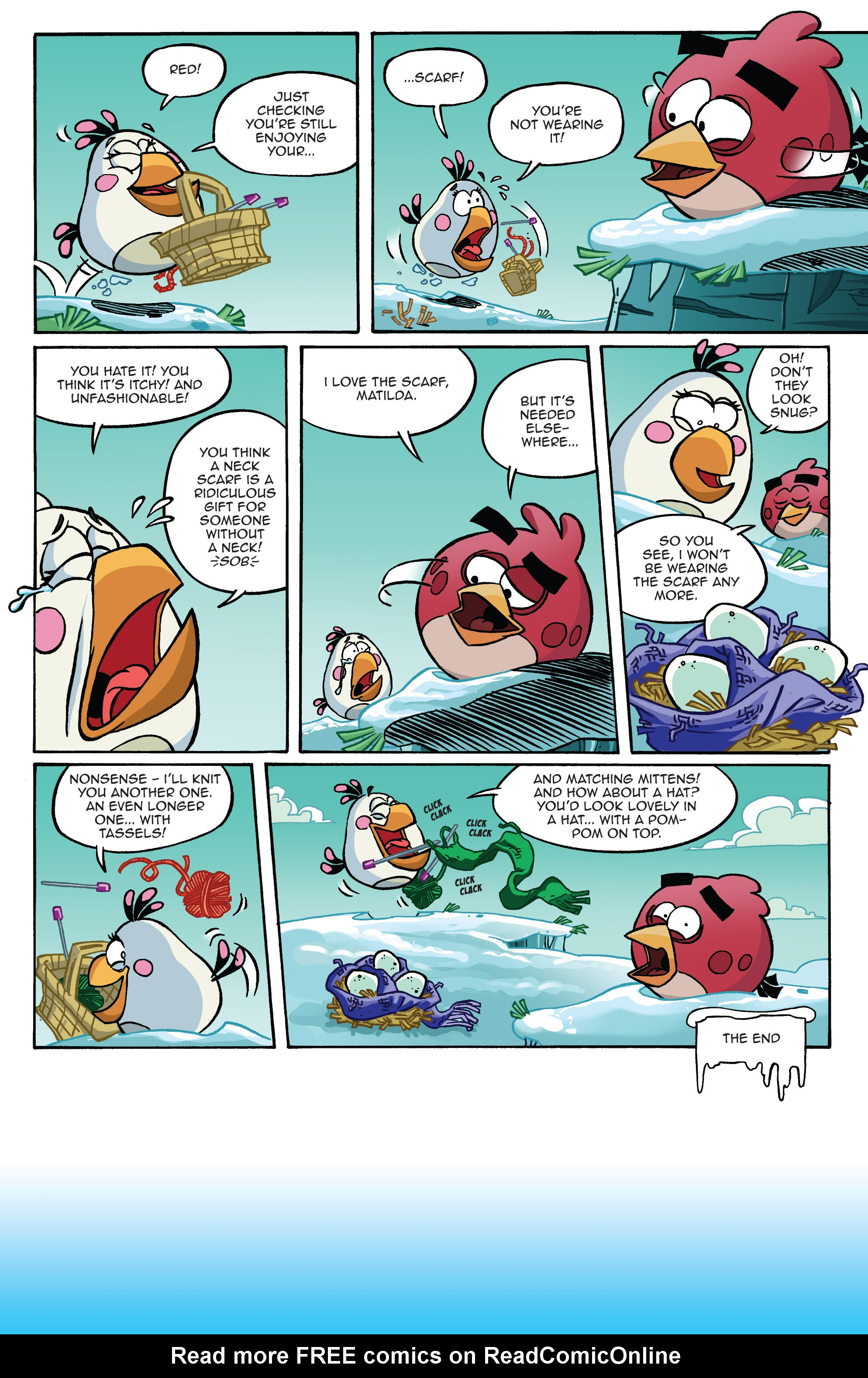 Read online Angry Birds Comics (2014) comic -  Issue #10 - 20
