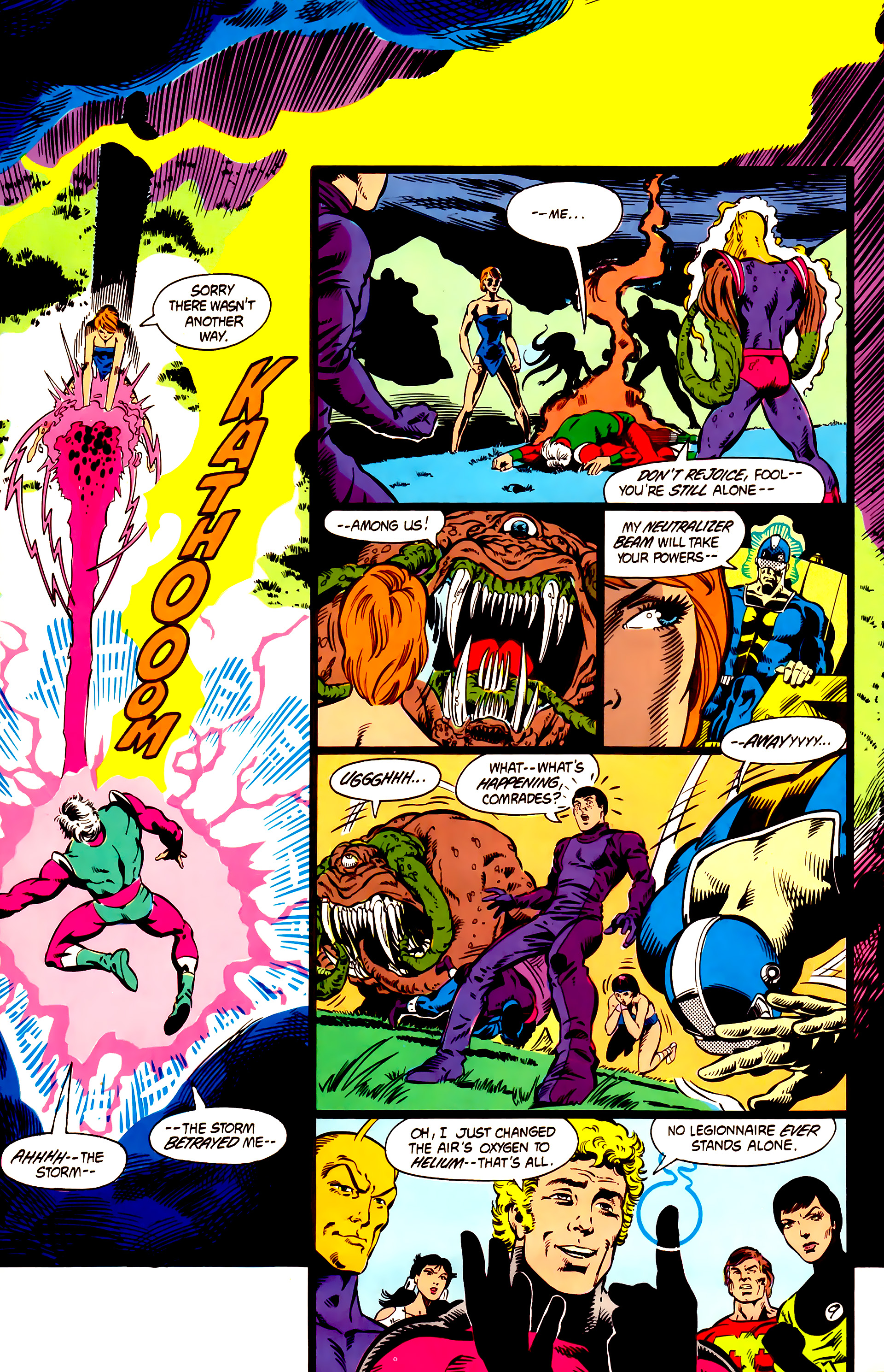 Legion of Super-Heroes (1984) 5 Page 10
