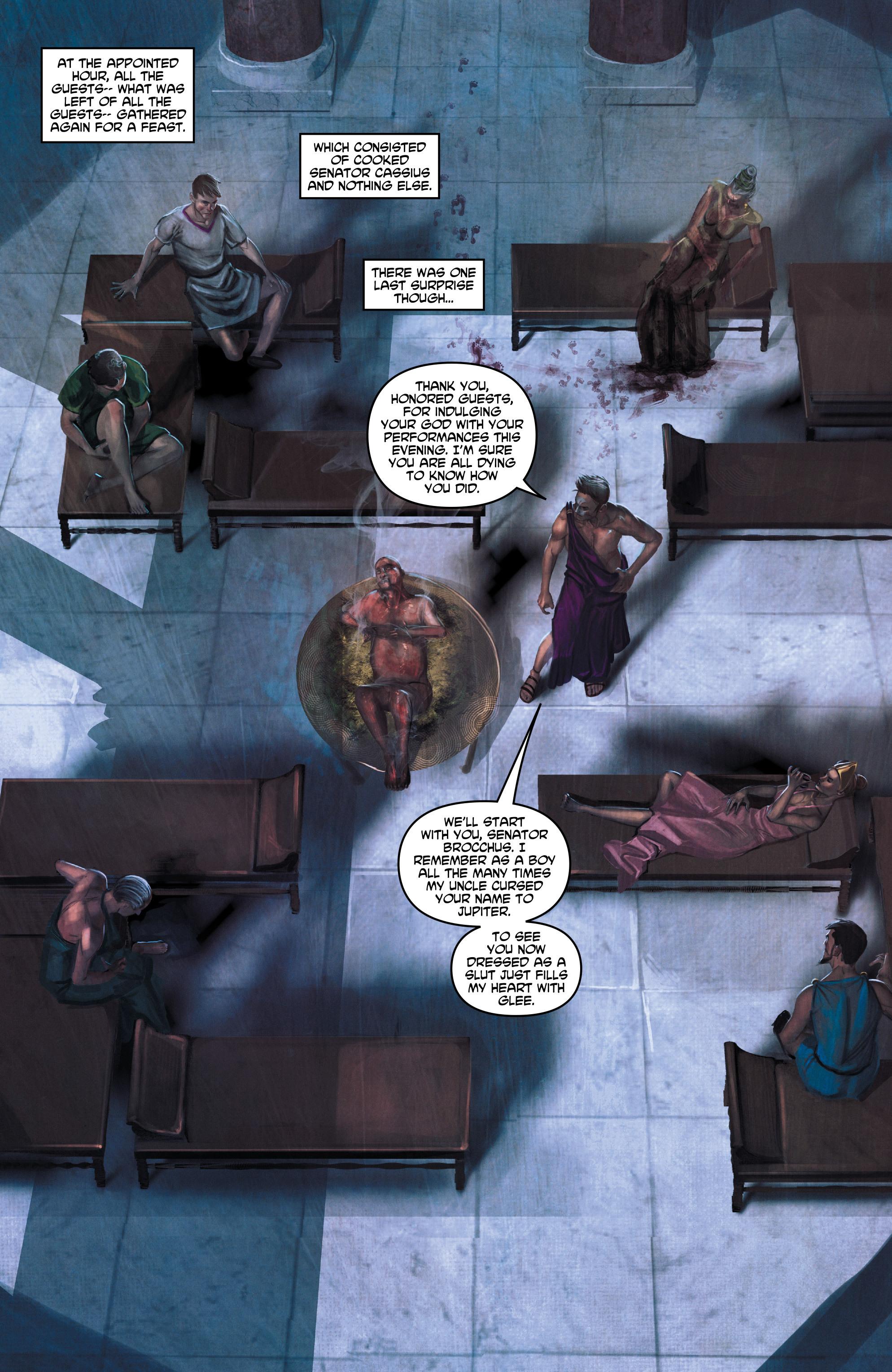 Caligula Issue 4   Read Caligula Issue 4 comic online in