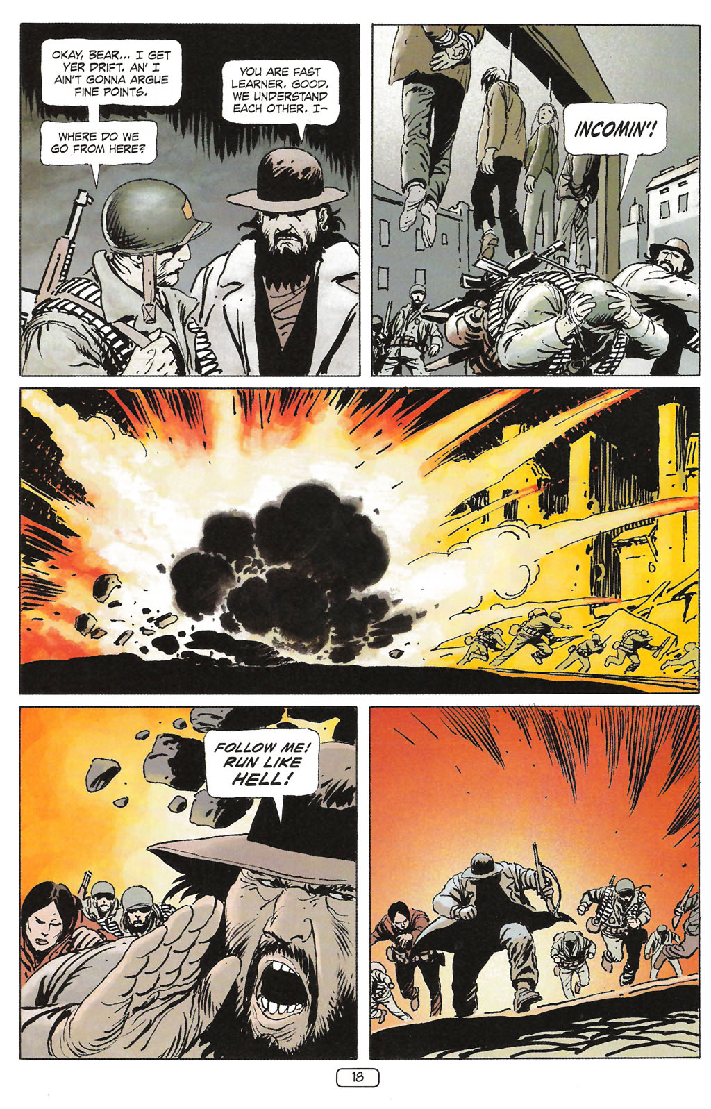 Read online Sgt. Rock: The Prophecy comic -  Issue #1 - 20