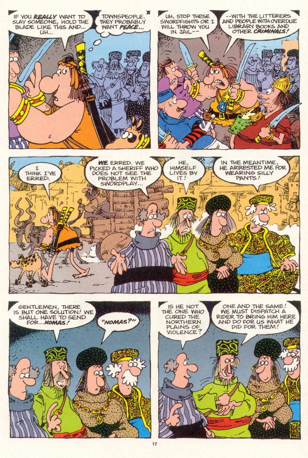 Read online Sergio Aragonés Groo the Wanderer comic -  Issue #120 - 19