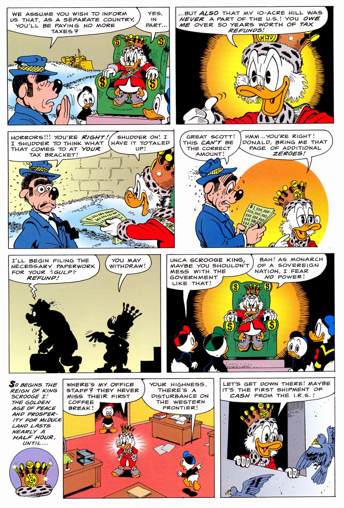 Read online Uncle Scrooge (1953) comic -  Issue #331 - 15