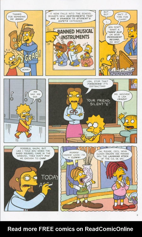Read online Simpsons Comics comic -  Issue #71 - 12