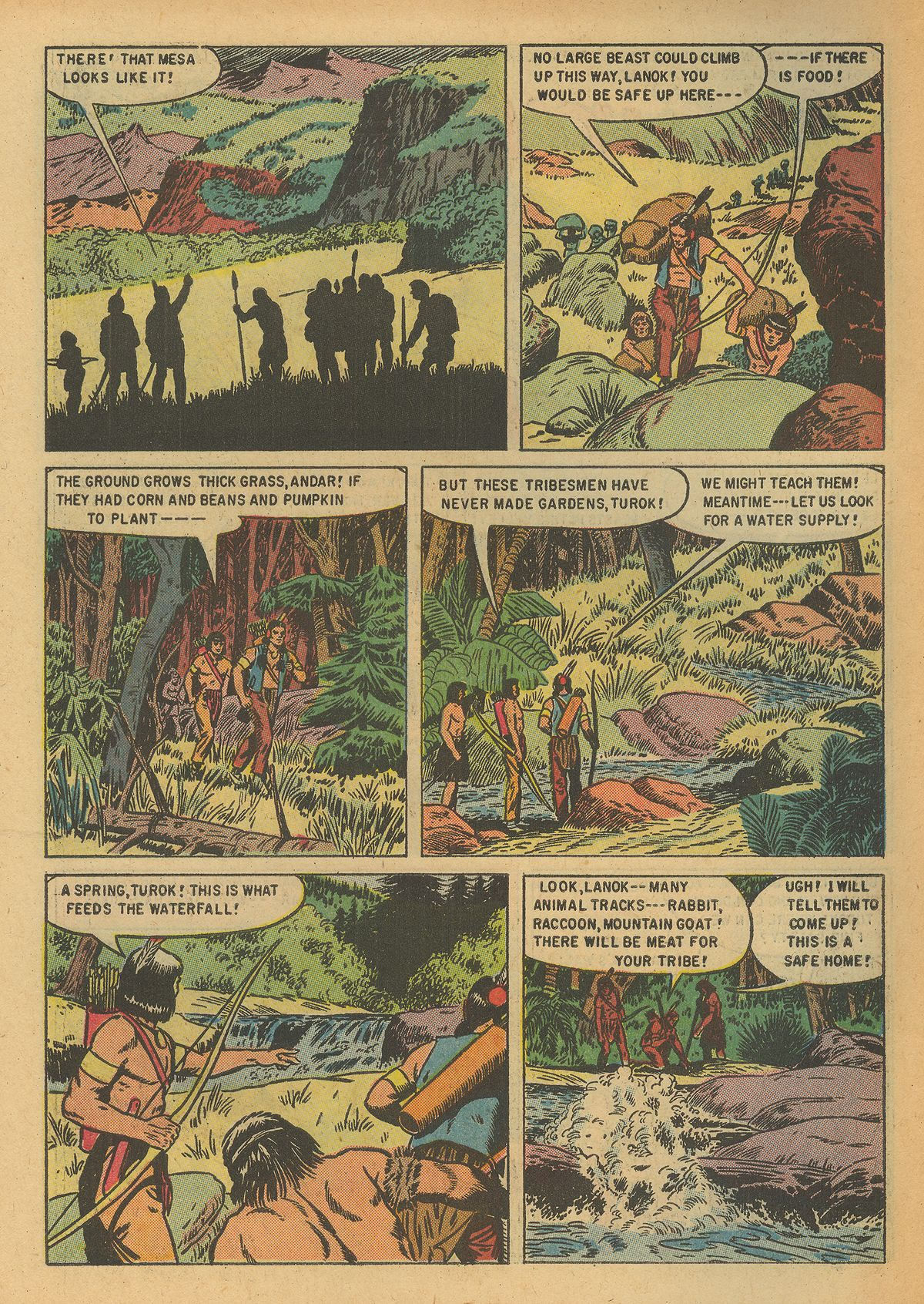 Read online Turok, Son of Stone comic -  Issue #6 - 6