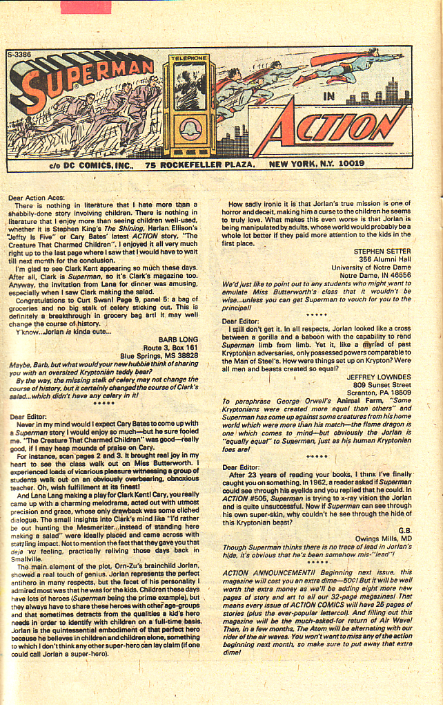 Read online Action Comics (1938) comic -  Issue #510 - 19