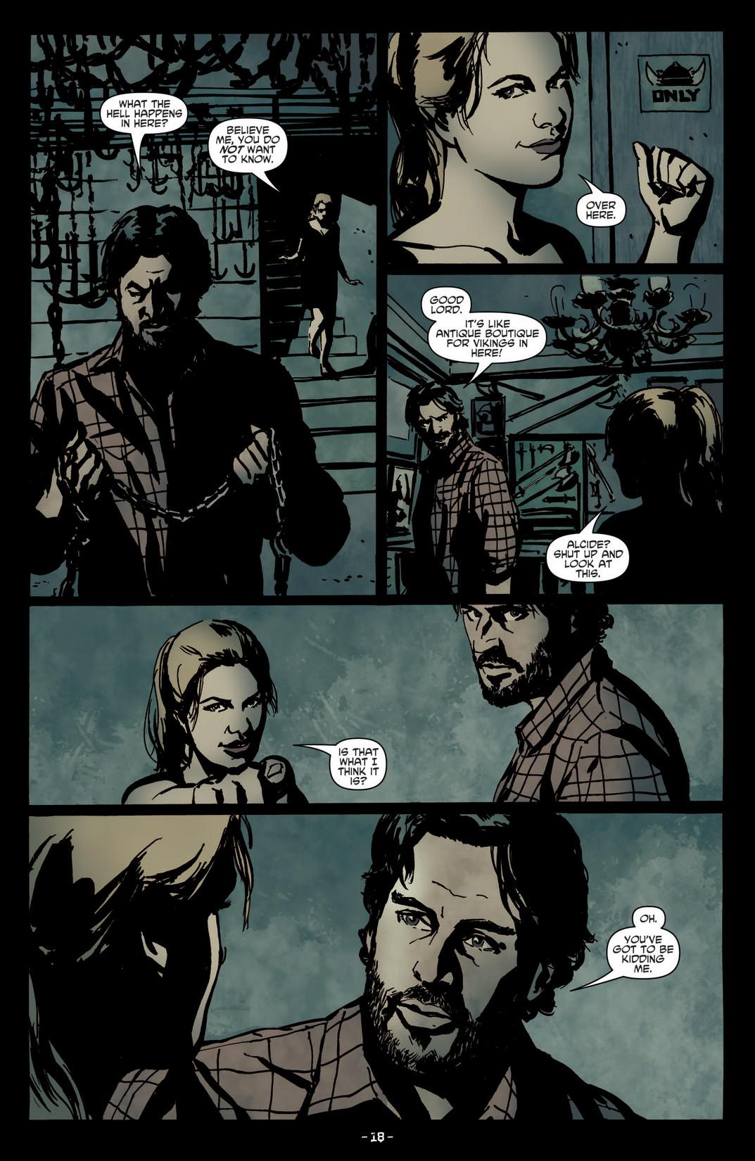 Read online True Blood (2012) comic -  Issue #4 - 20
