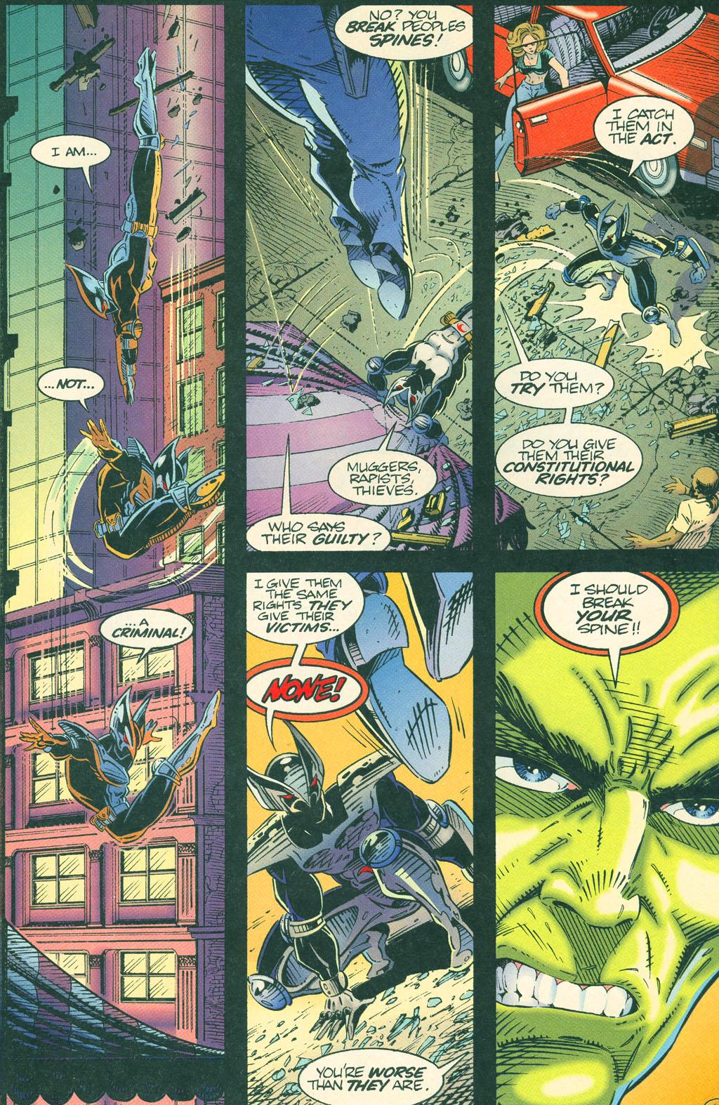Read online ShadowHawk comic -  Issue #4 - 19