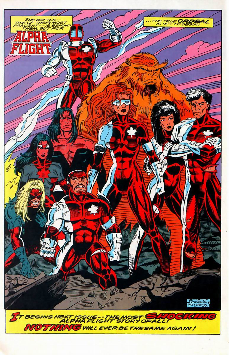 Read online Alpha Flight (1983) comic -  Issue #127 - 17