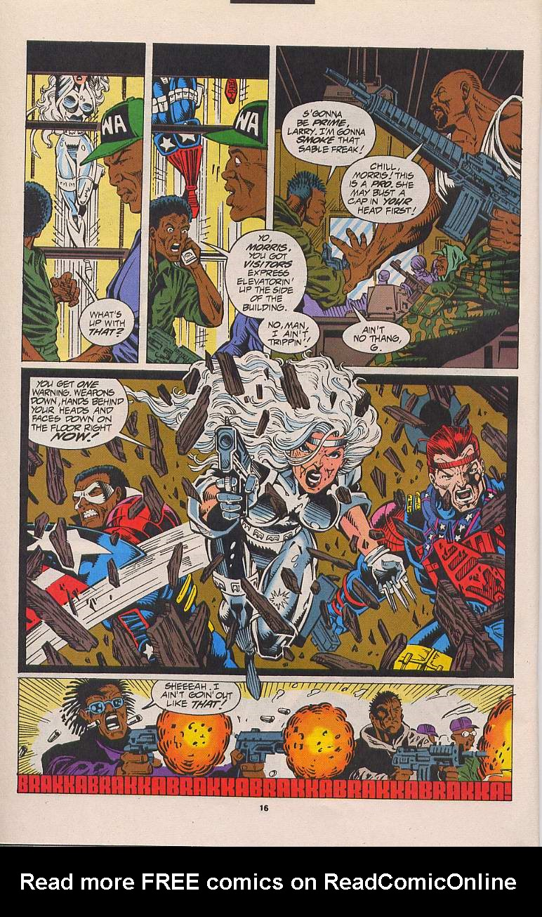 Read online Silver Sable and the Wild Pack comic -  Issue #21 - 13