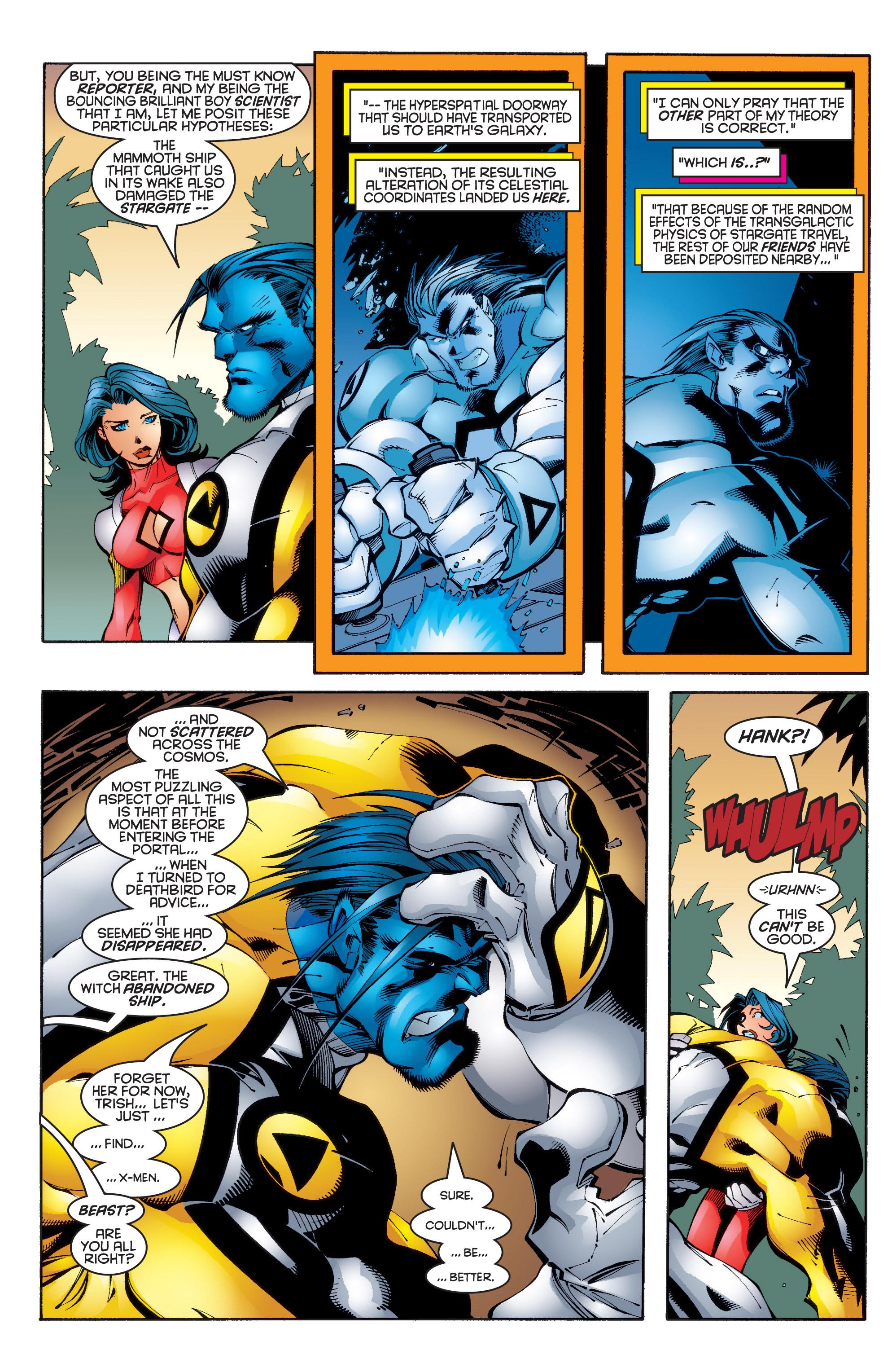 Read online Uncanny X-Men (1963) comic -  Issue #347 - 7