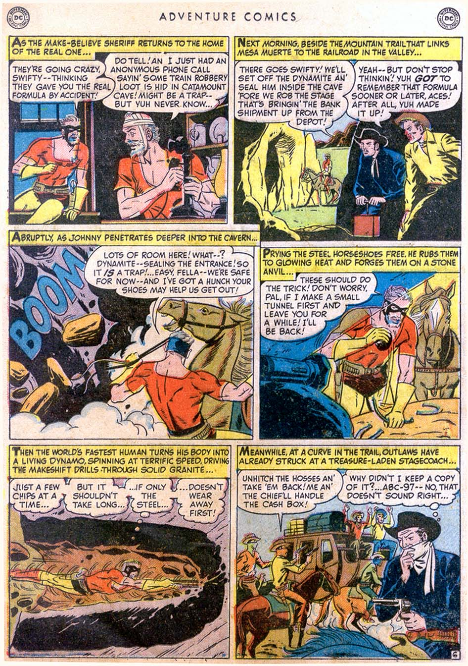 Read online Adventure Comics (1938) comic -  Issue #158 - 22