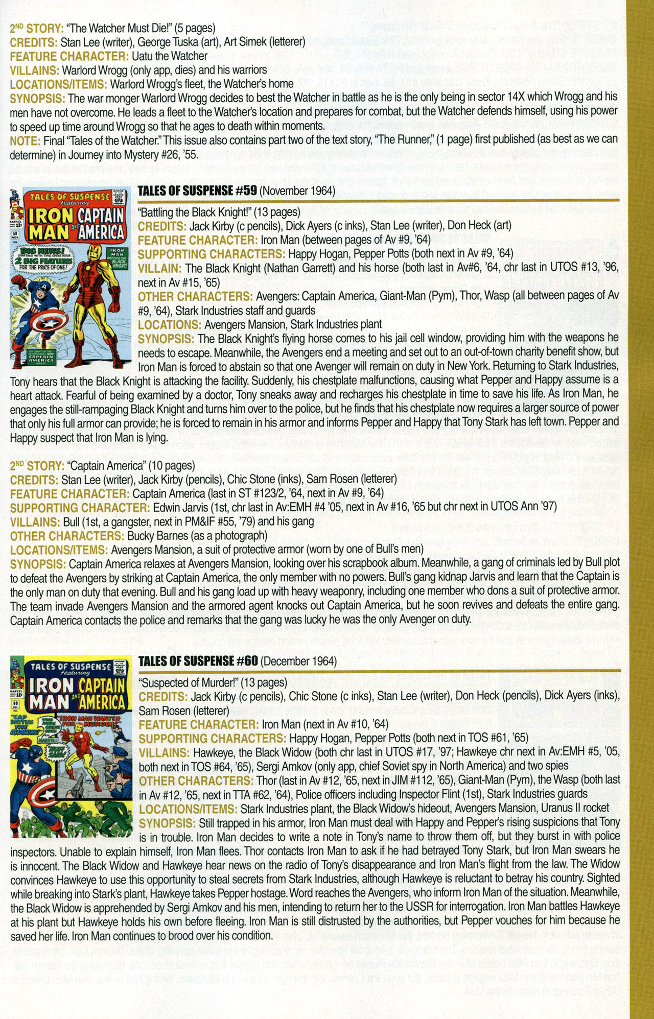 Read online Official Index to the Marvel Universe comic -  Issue #1 - 37