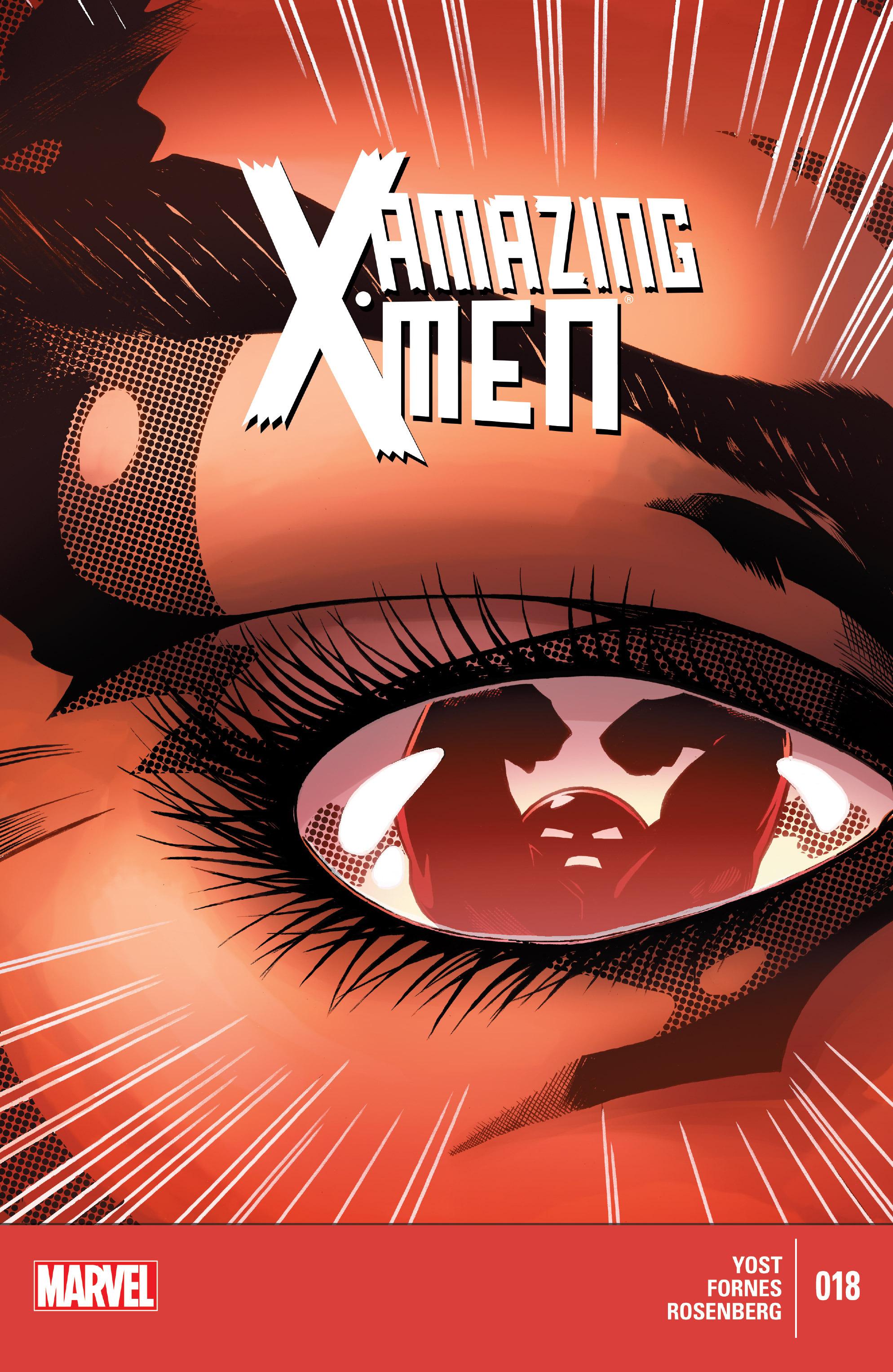 Read online Amazing X-Men (2014) comic -  Issue #18 - 1