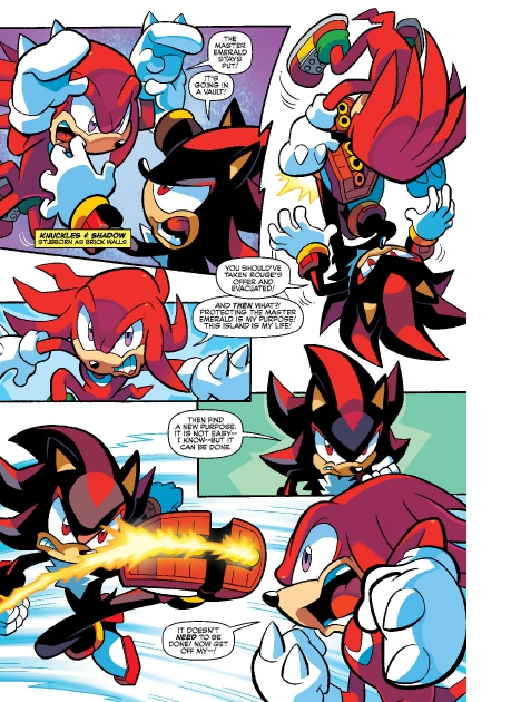 Read online Sonic Comics Spectacular: Speed of Sound comic -  Issue # Full - 236