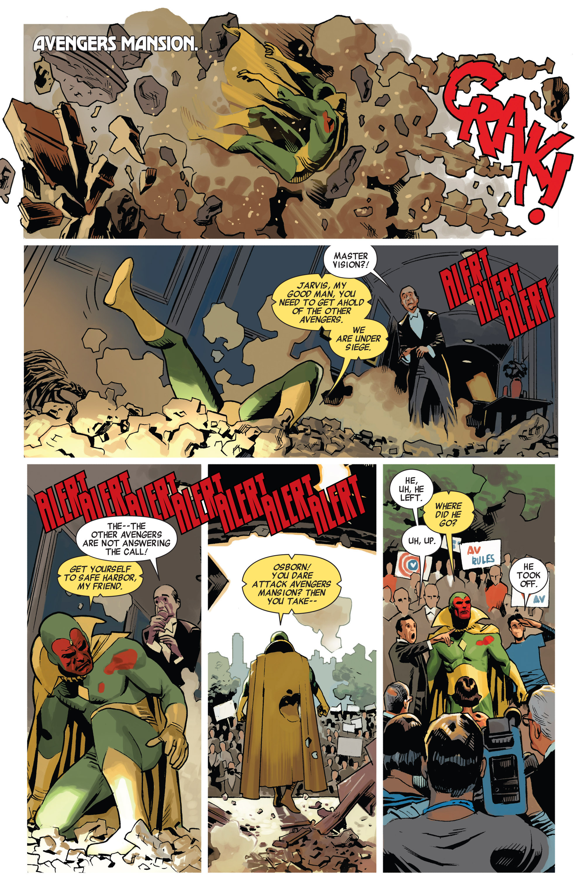 Read online Avengers (2010) comic -  Issue #23 - 12