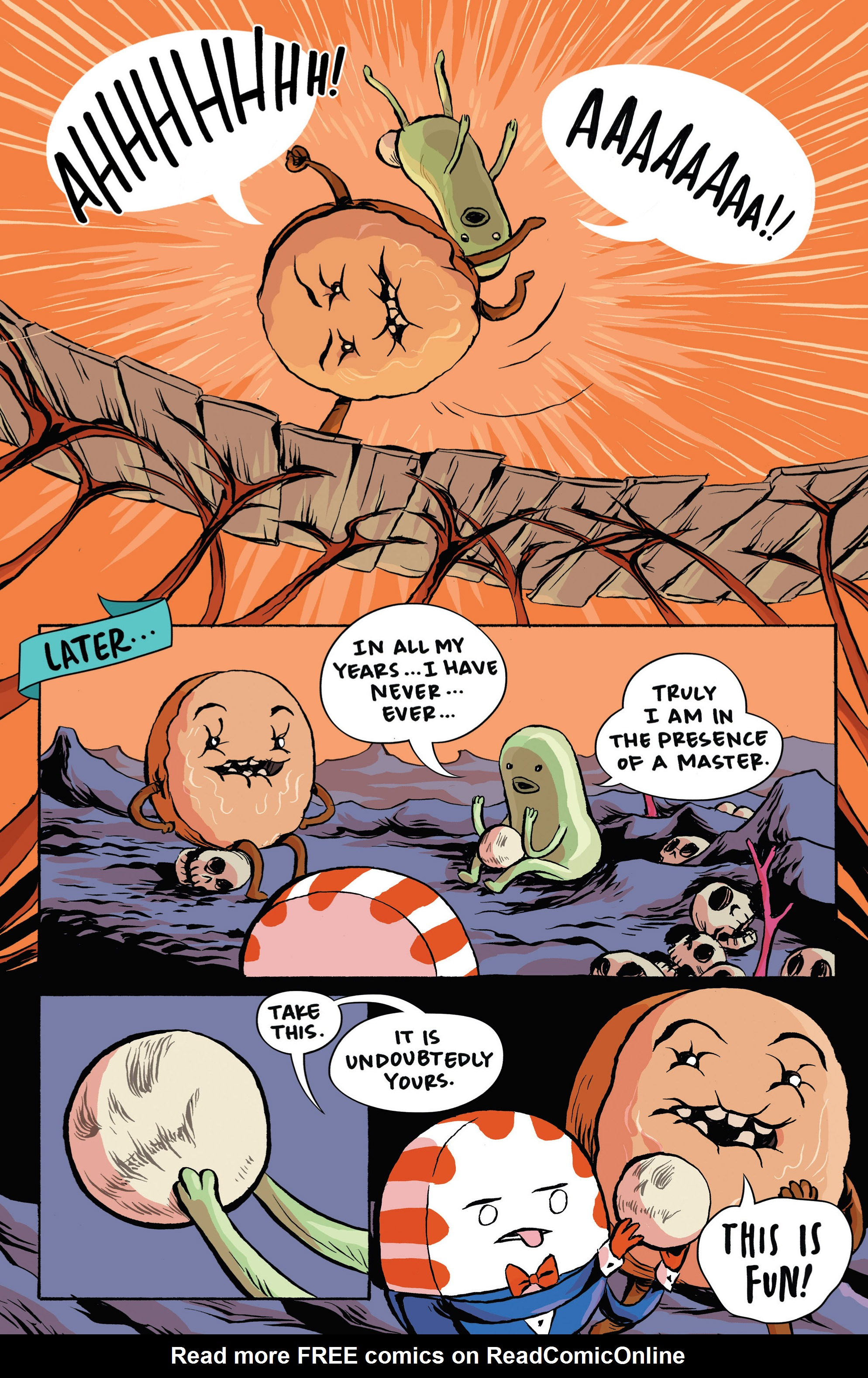 Read online Adventure Time: Candy Capers comic -  Issue #3 - 14