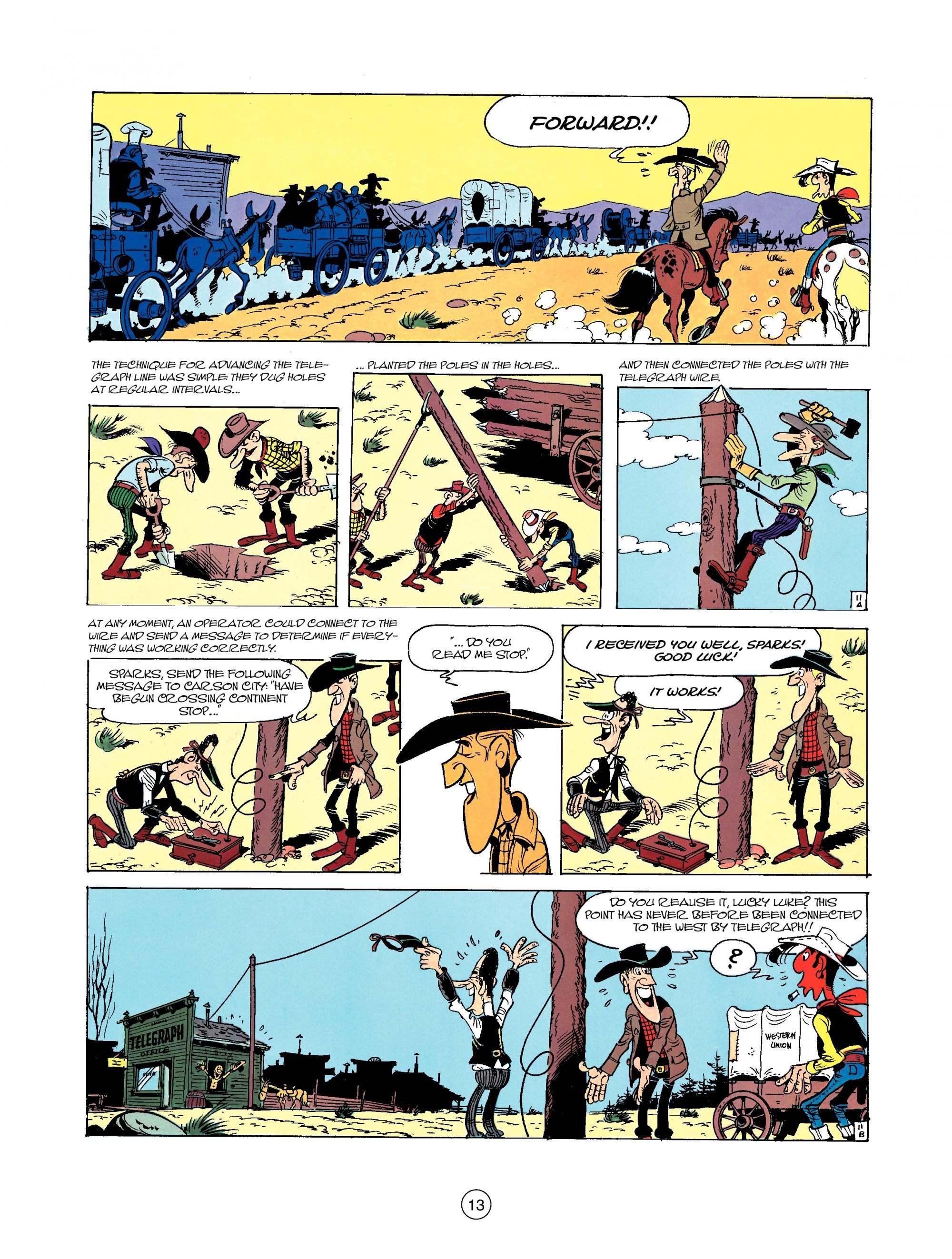 Read online A Lucky Luke Adventure comic -  Issue #35 - 13