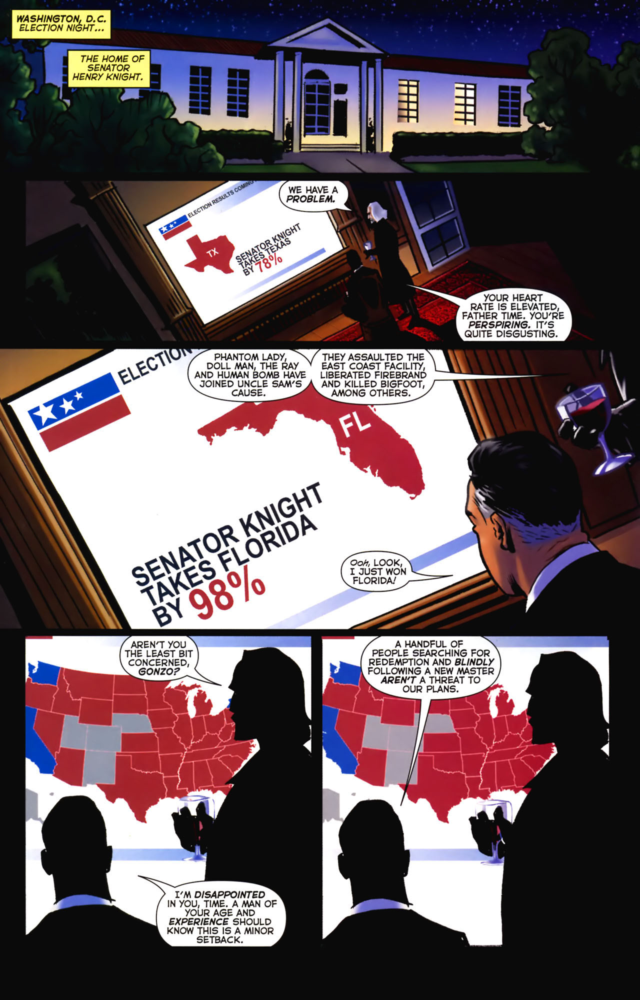 Read online Uncle Sam and the Freedom Fighters (2006) comic -  Issue #2 - 23