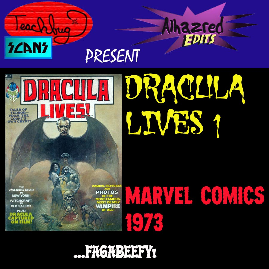Dracula Lives _Annual_1 Page 1