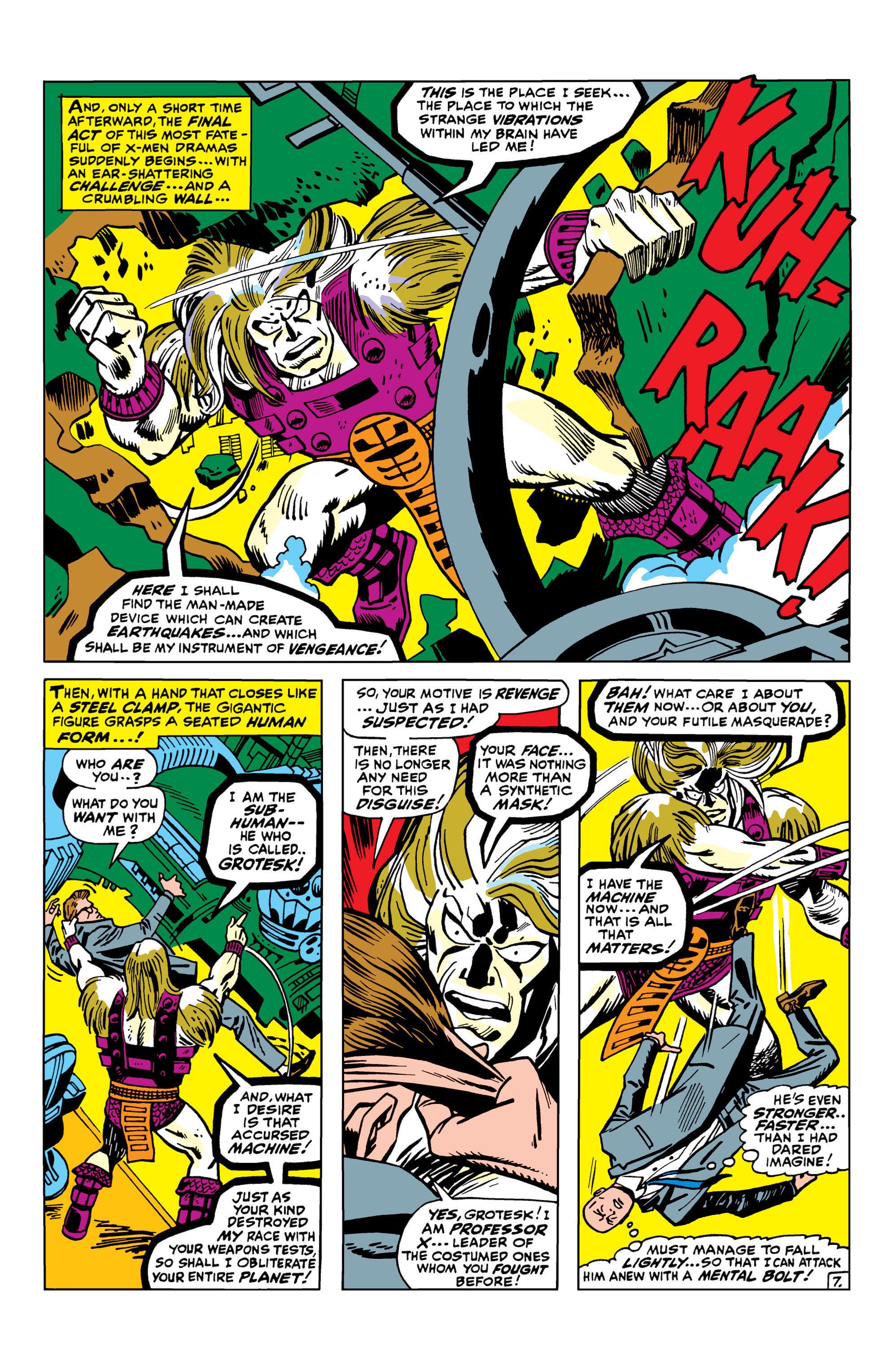 Read online Uncanny X-Men (1963) comic -  Issue #42 - 8