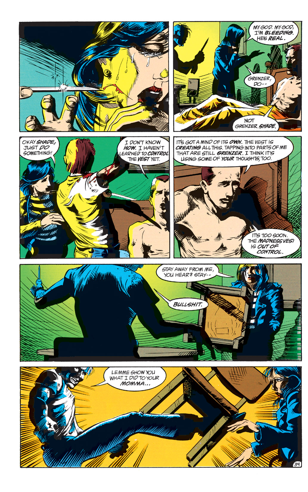 Read online Shade, the Changing Man comic -  Issue #1 - 36