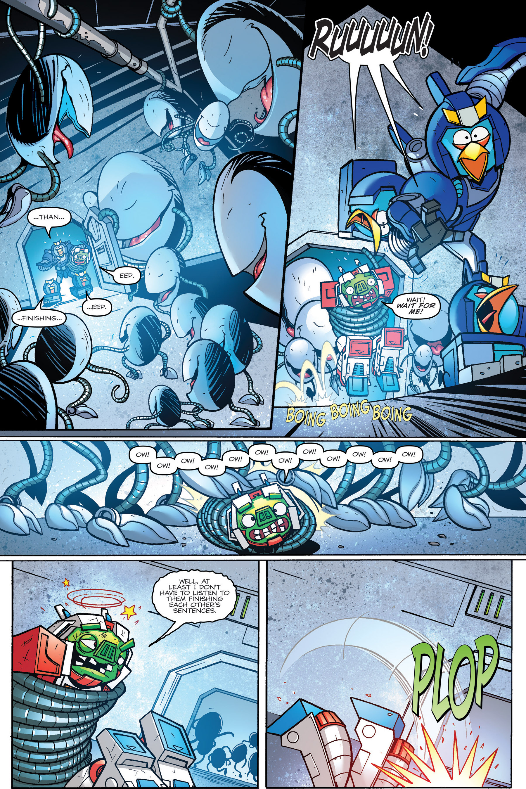 Read online Angry Birds Transformers: Age of Eggstinction comic -  Issue # Full - 64