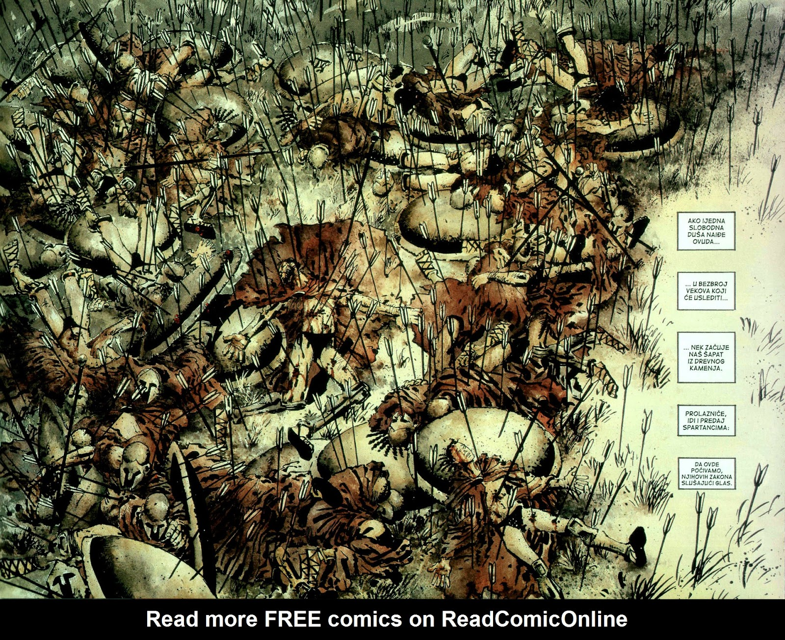 Read online 300 (2007) comic -  Issue # TPB - 84