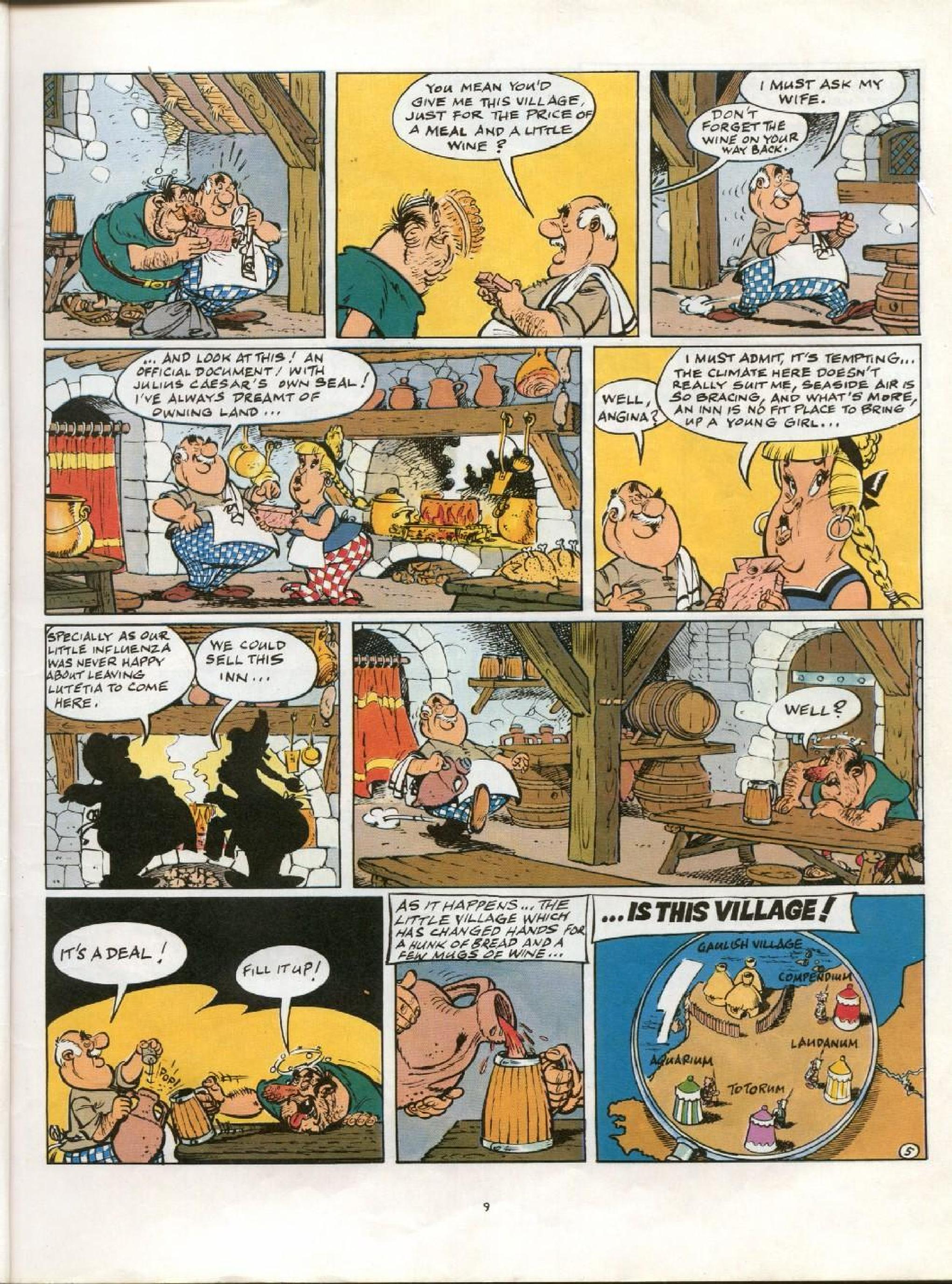Read online Asterix comic -  Issue #21 - 6