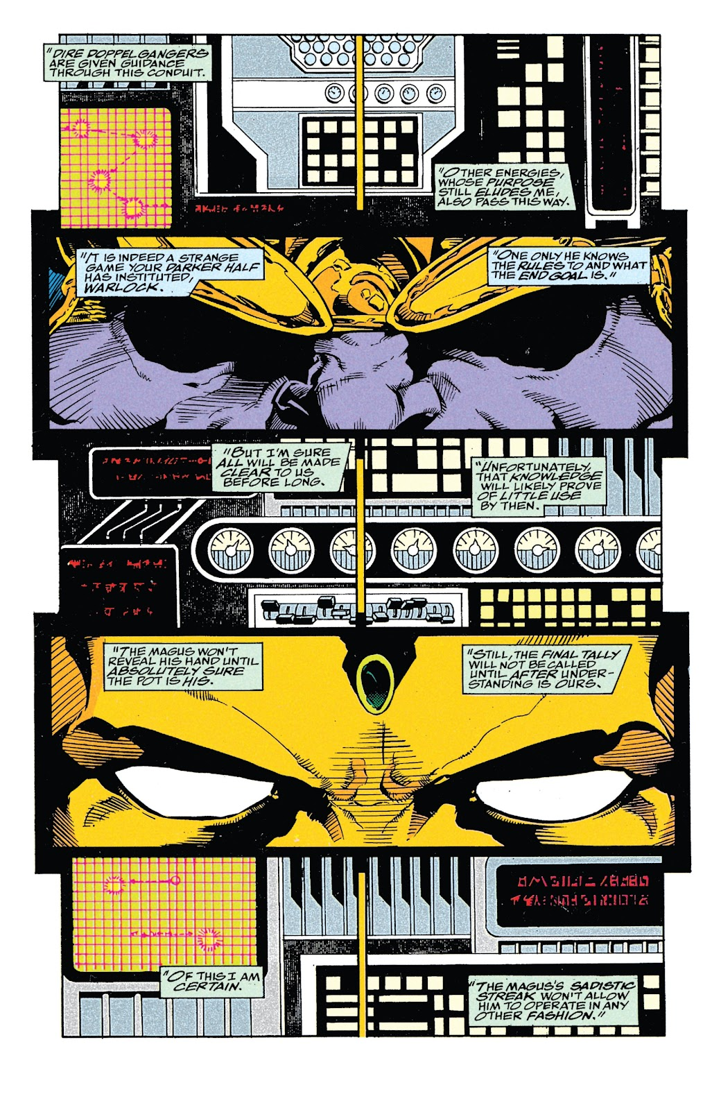 Read online Marvel Tales: Thanos comic -  Issue # Full - 50