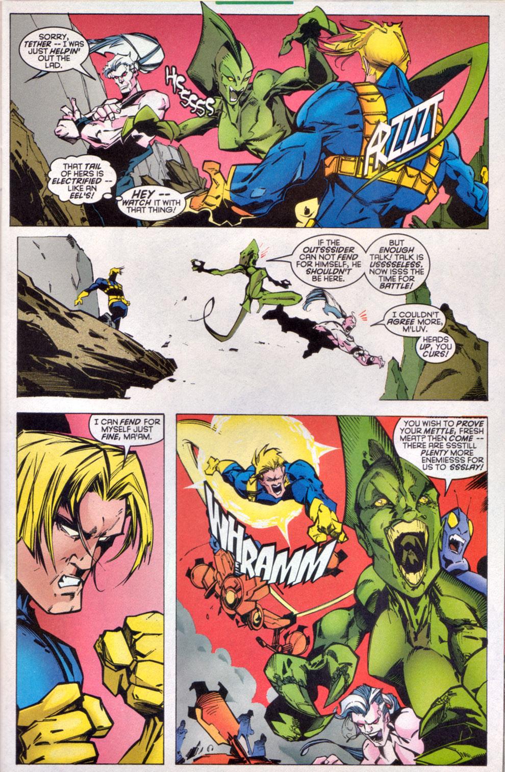 Read online Uncanny X-Men (1963) comic -  Issue # _Annual 1997 - 7