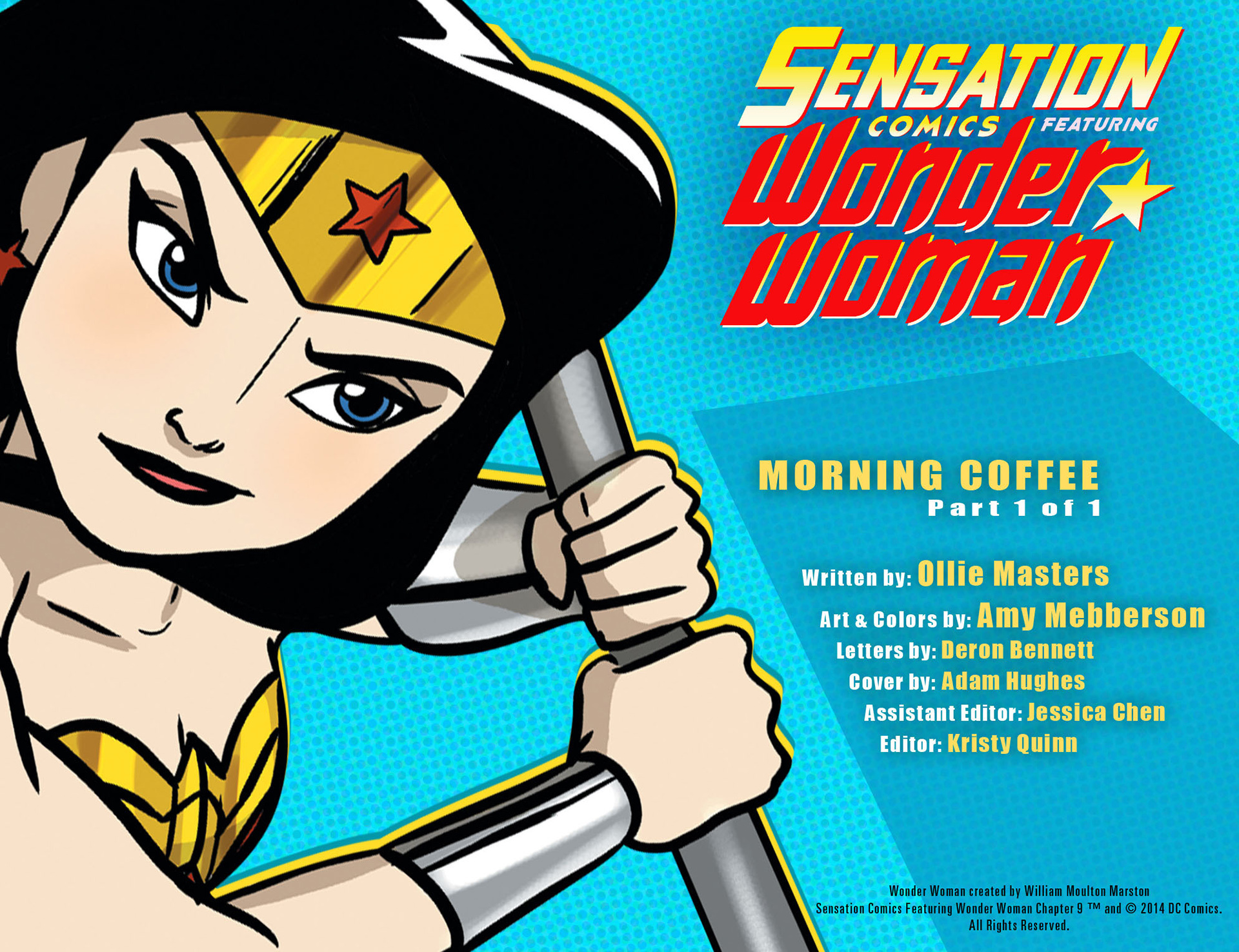 Read online Sensation Comics Featuring Wonder Woman comic -  Issue #9 - 2