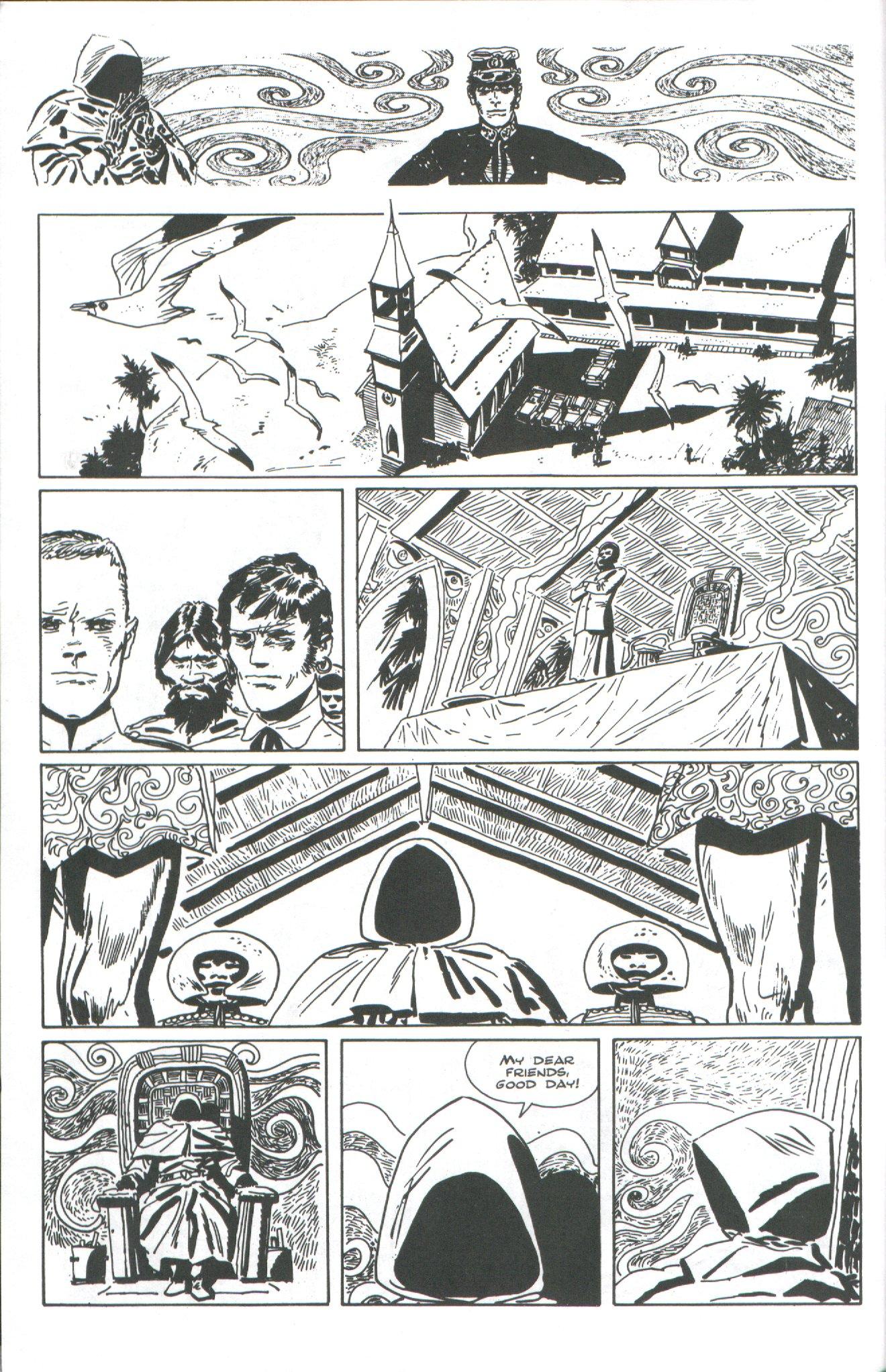 Read online Corto Maltese: Ballad of the Salt Sea comic -  Issue #4 - 4