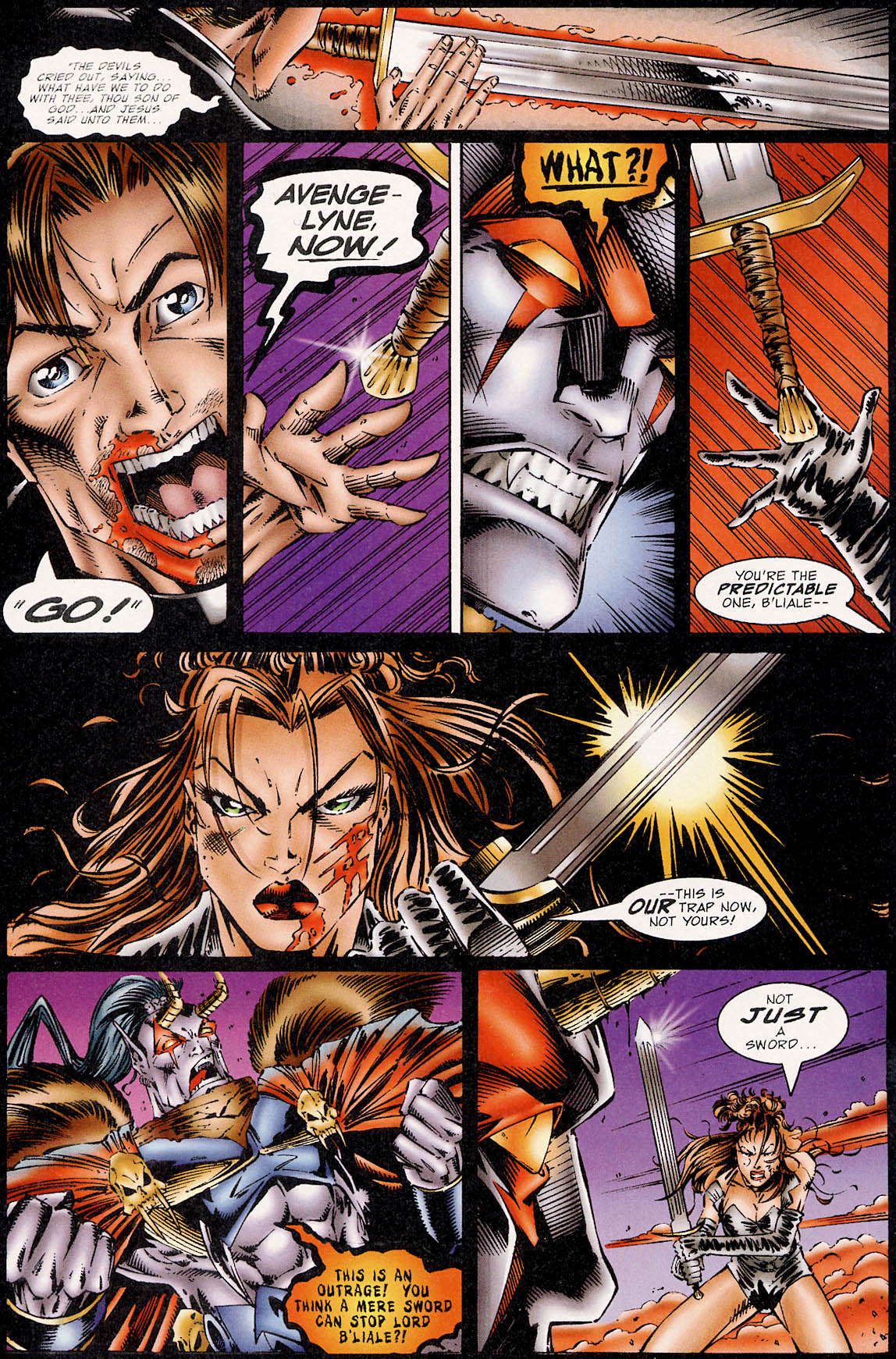 Read online Avengelyne (1995) comic -  Issue #3 - 20