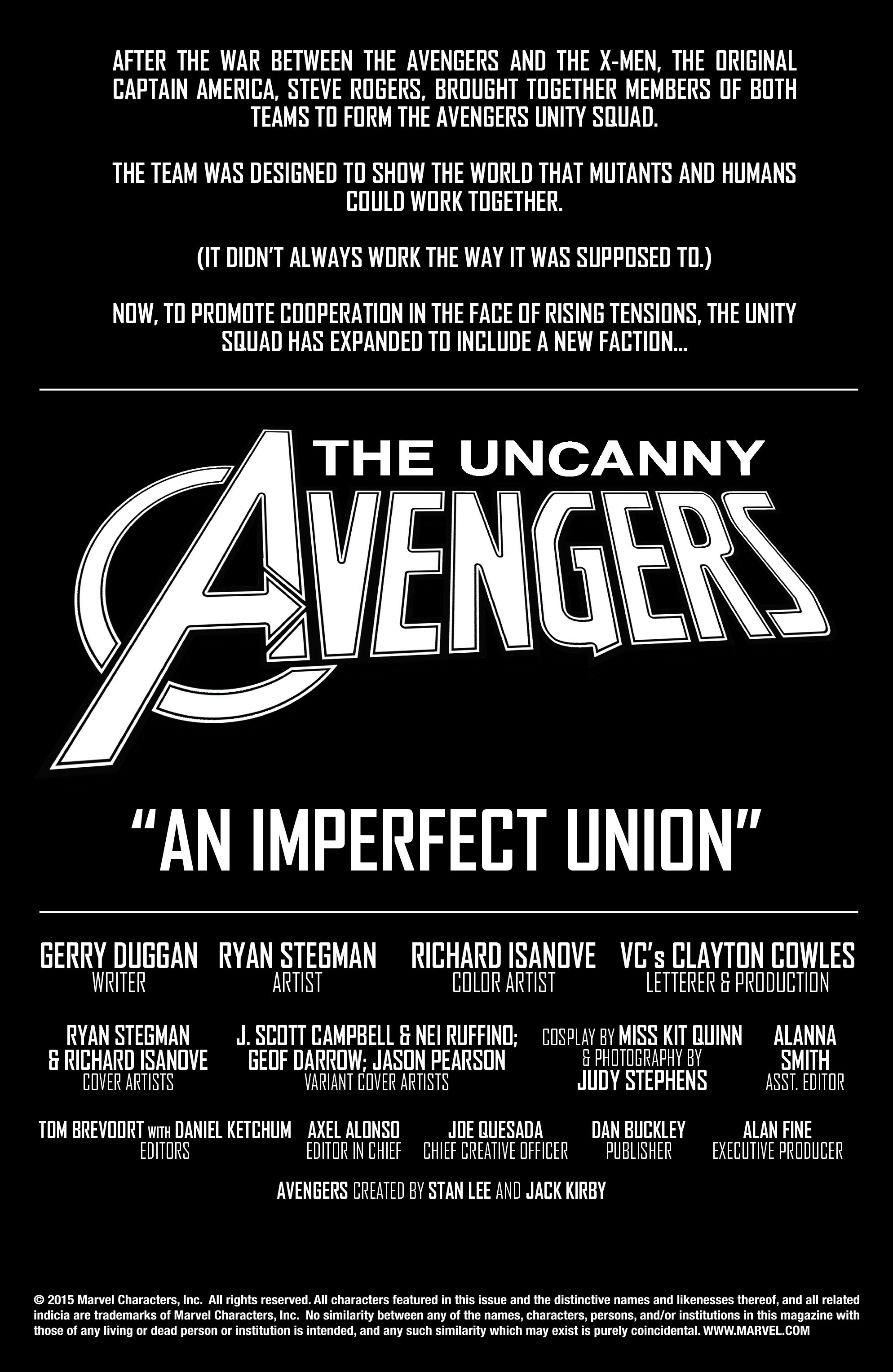 Read online Uncanny Avengers [II] comic -  Issue #1 - 7